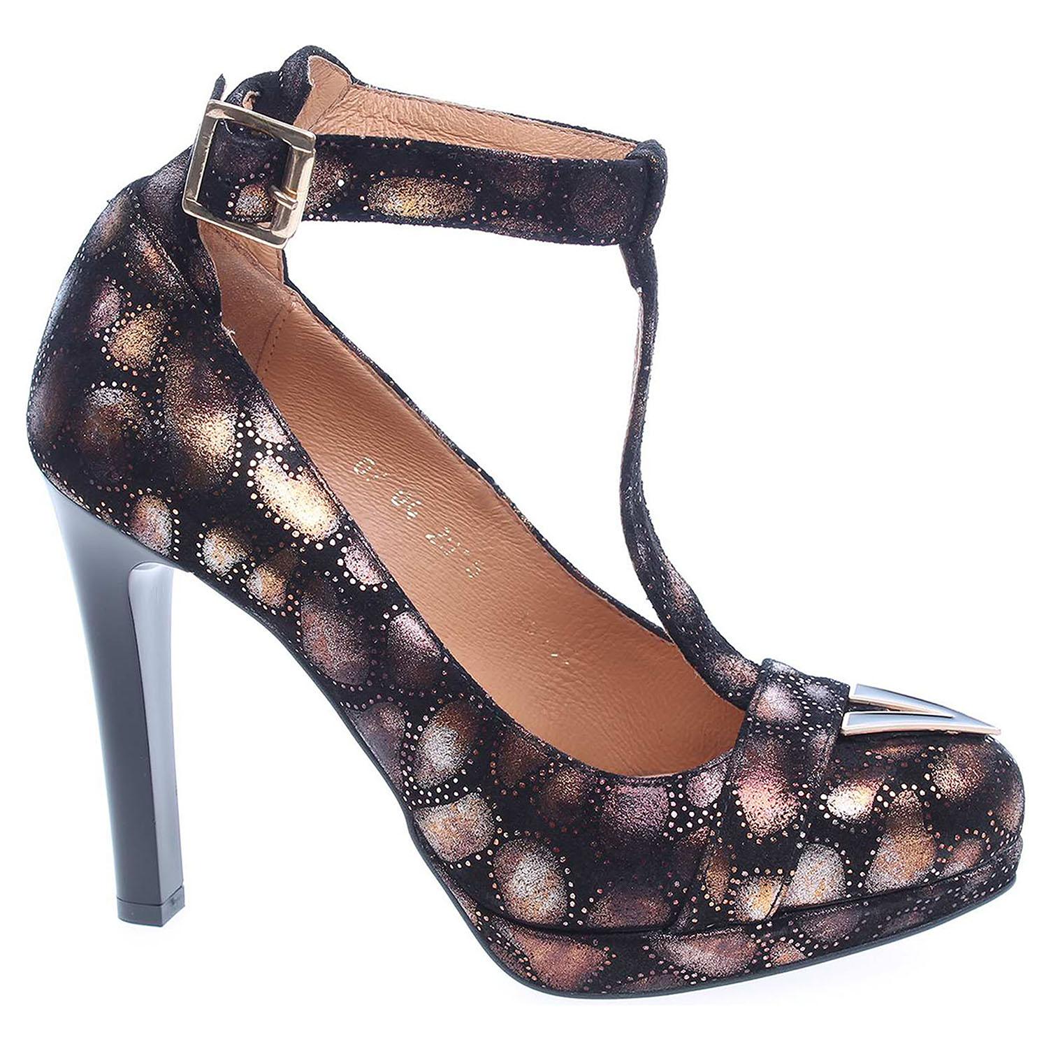 Ecco Dámská společenská obuv Barton 16151 černé 22800335