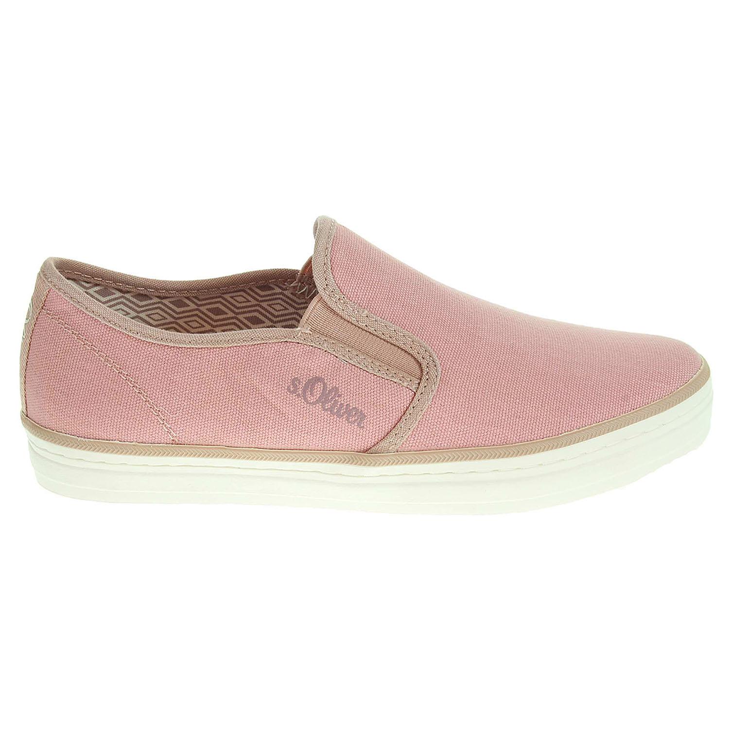 s.Oliver dámská obuv 5-24624-26 růžová 36