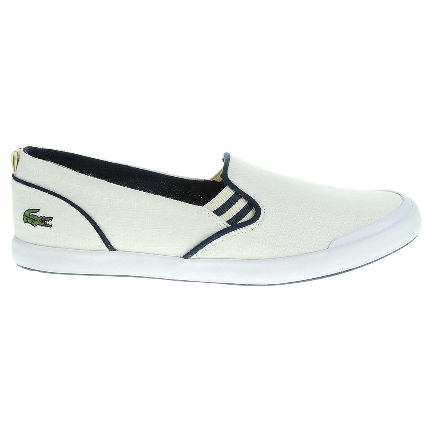 Ecco Lacoste Lancelle Slip-On dámská obuv bílá 23000813 618e99ba56