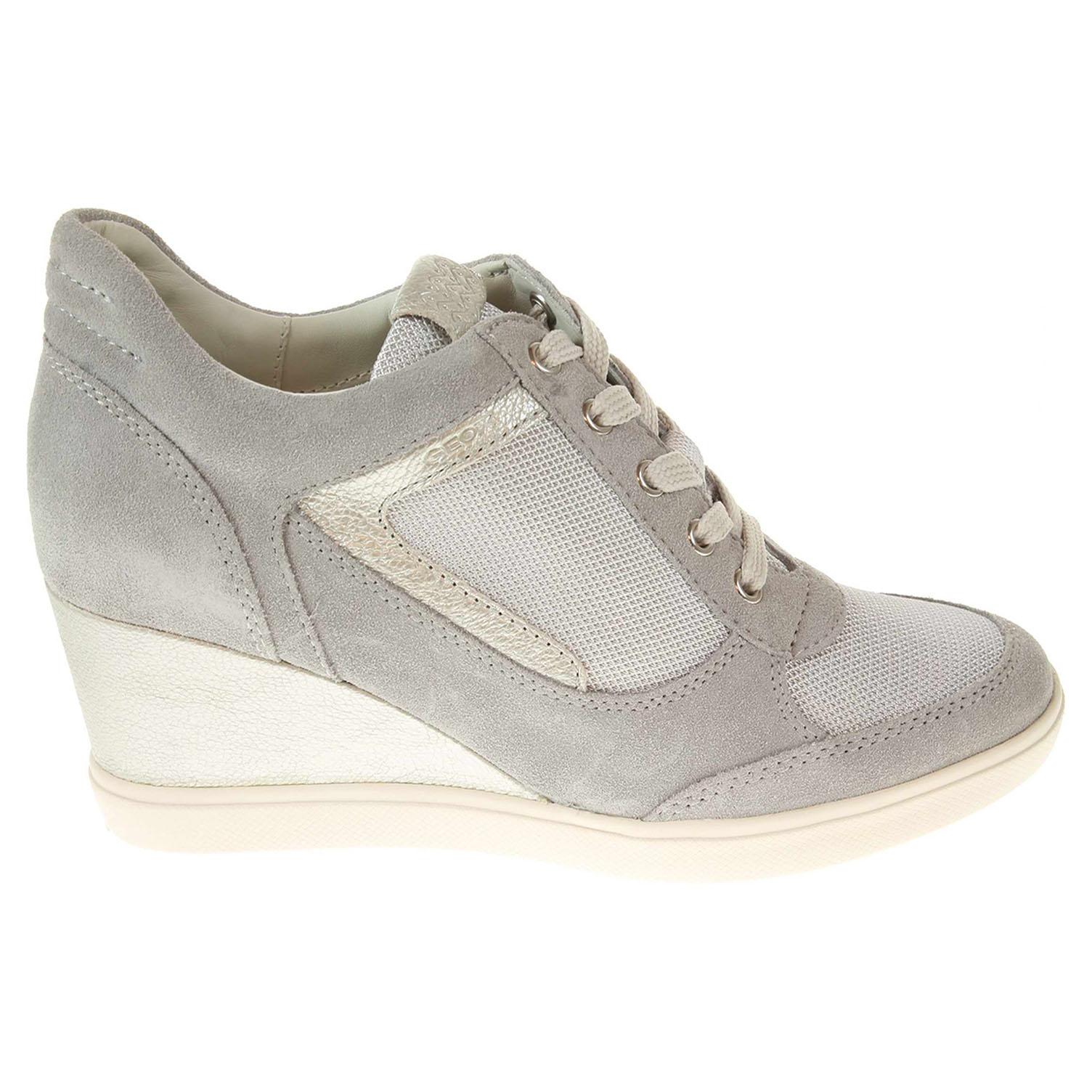 Geox Eleni dámská obuv stříbrná 40