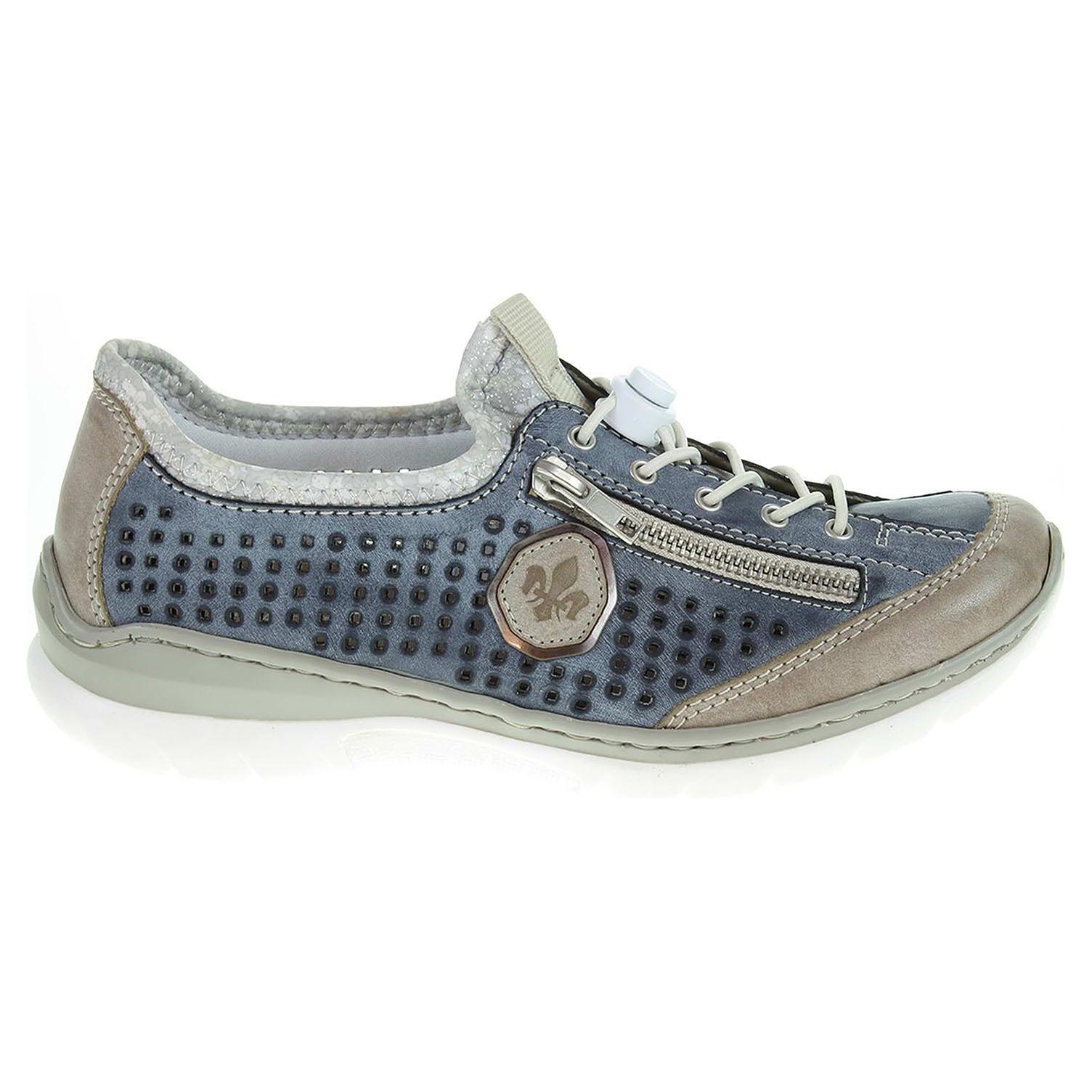 Ecco Rieker dámská obuv L3296-42 blau kombi 23100622 36f1cd70640