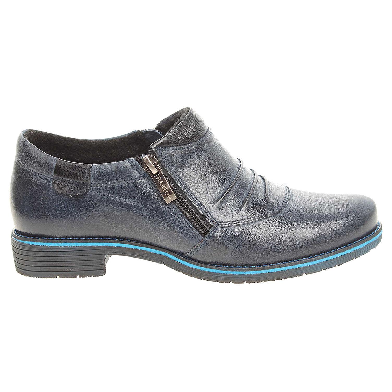 f4d0573d269 Ecco Barton dámská obuv 11716 modrá 23200562