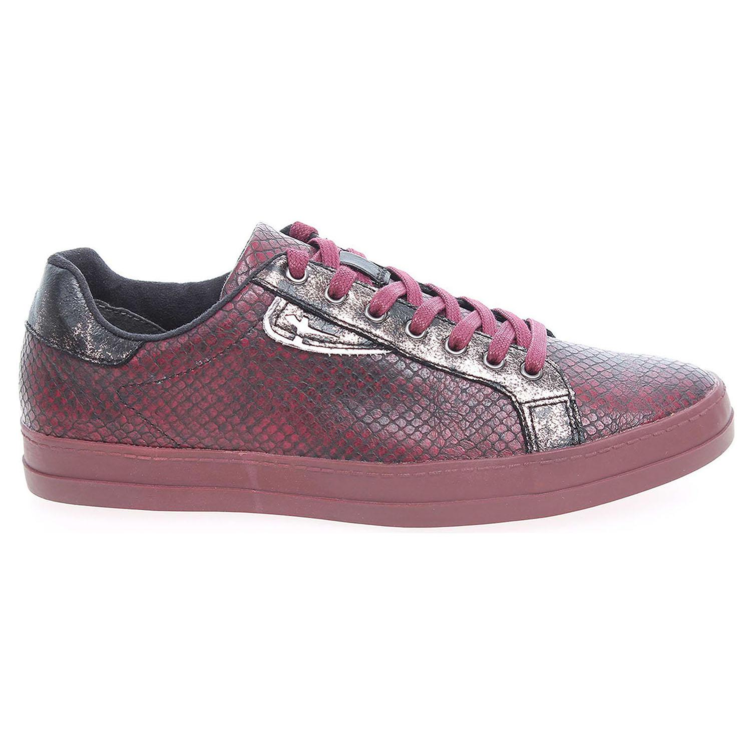Ecco Tamaris dámská obuv 1-23606-27 vínová 23200576 30329a054be
