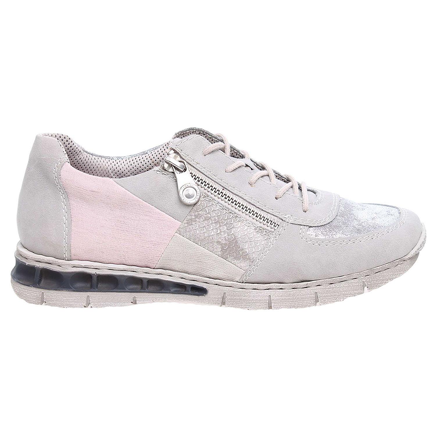 Ecco Rieker dámská obuv M2840-40 šedá 23200578 06768cfd250