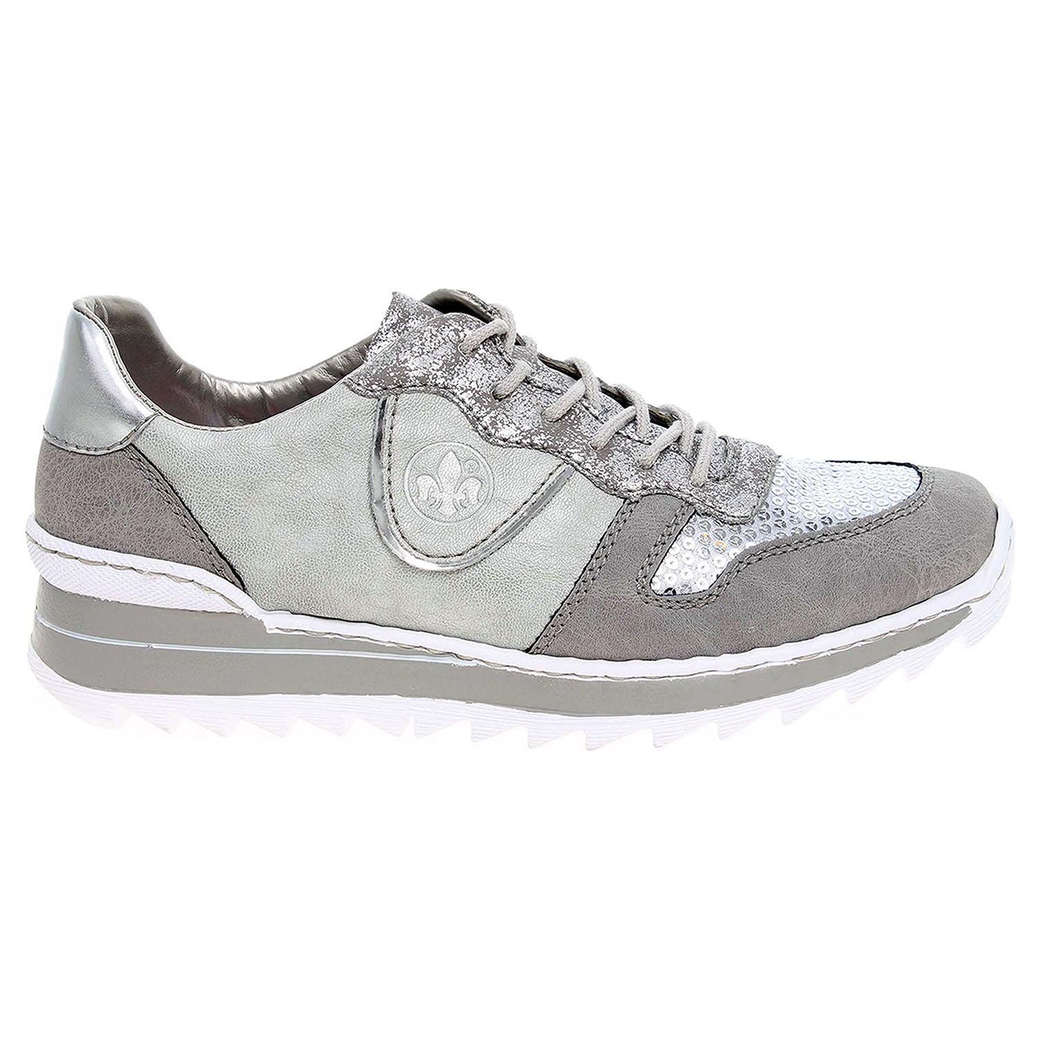 Ecco Rieker dámská obuv M6902-42 šedá 23200584 52cf7fd20a7