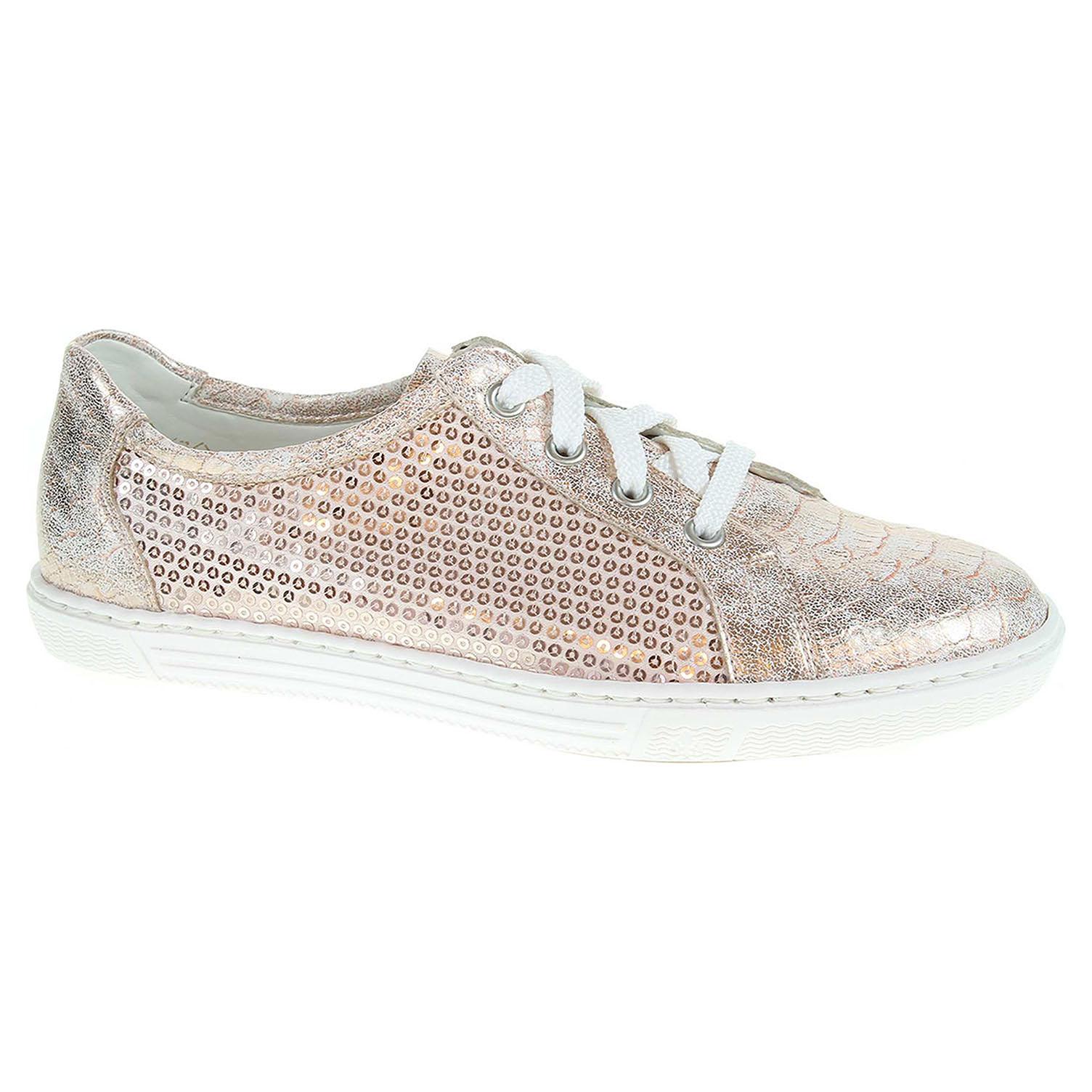 Ecco Dámská obuv Rieker L0900-31 růžová 23200590