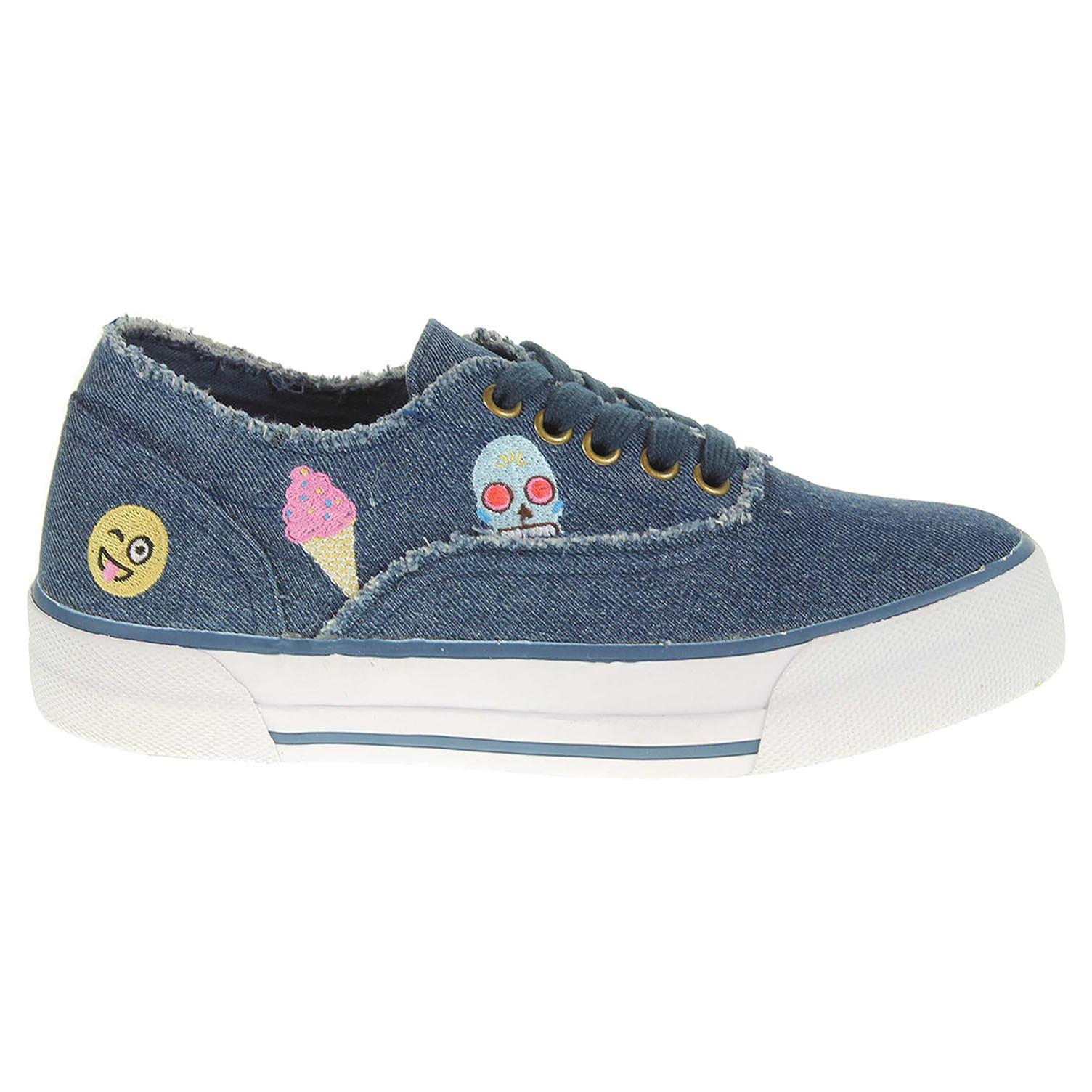 Ecco Marco Tozzi dámská obuv 2-23624-38 modrá 23200647 c6320ffc3fd