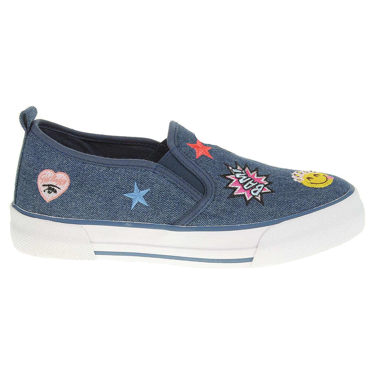 6d79c1876b3 Ecco Marco Tozzi dámská obuv 2-24618-38 modrá 23200650