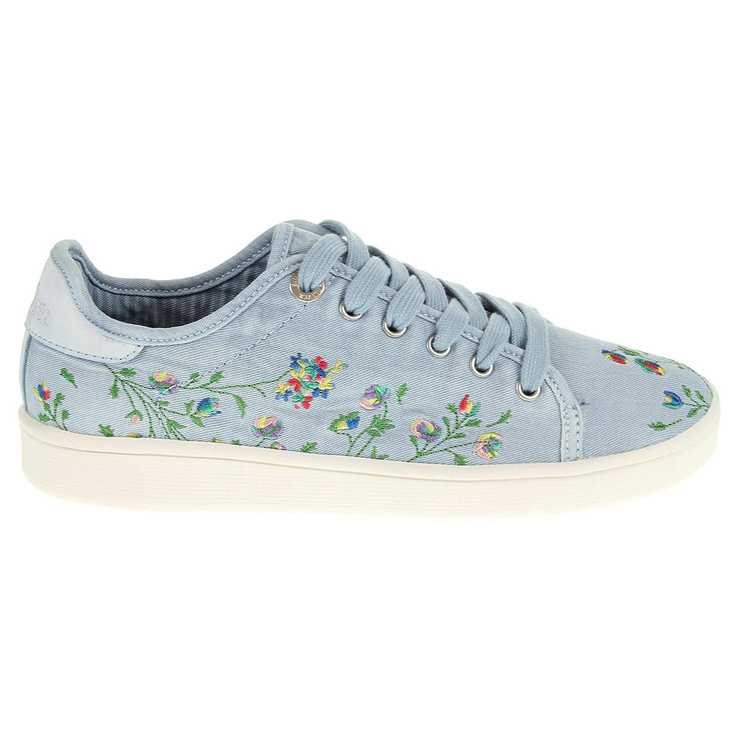 Oliver dámská obuv 5-23647-38 modrá 23200677 ab0ba6d2754