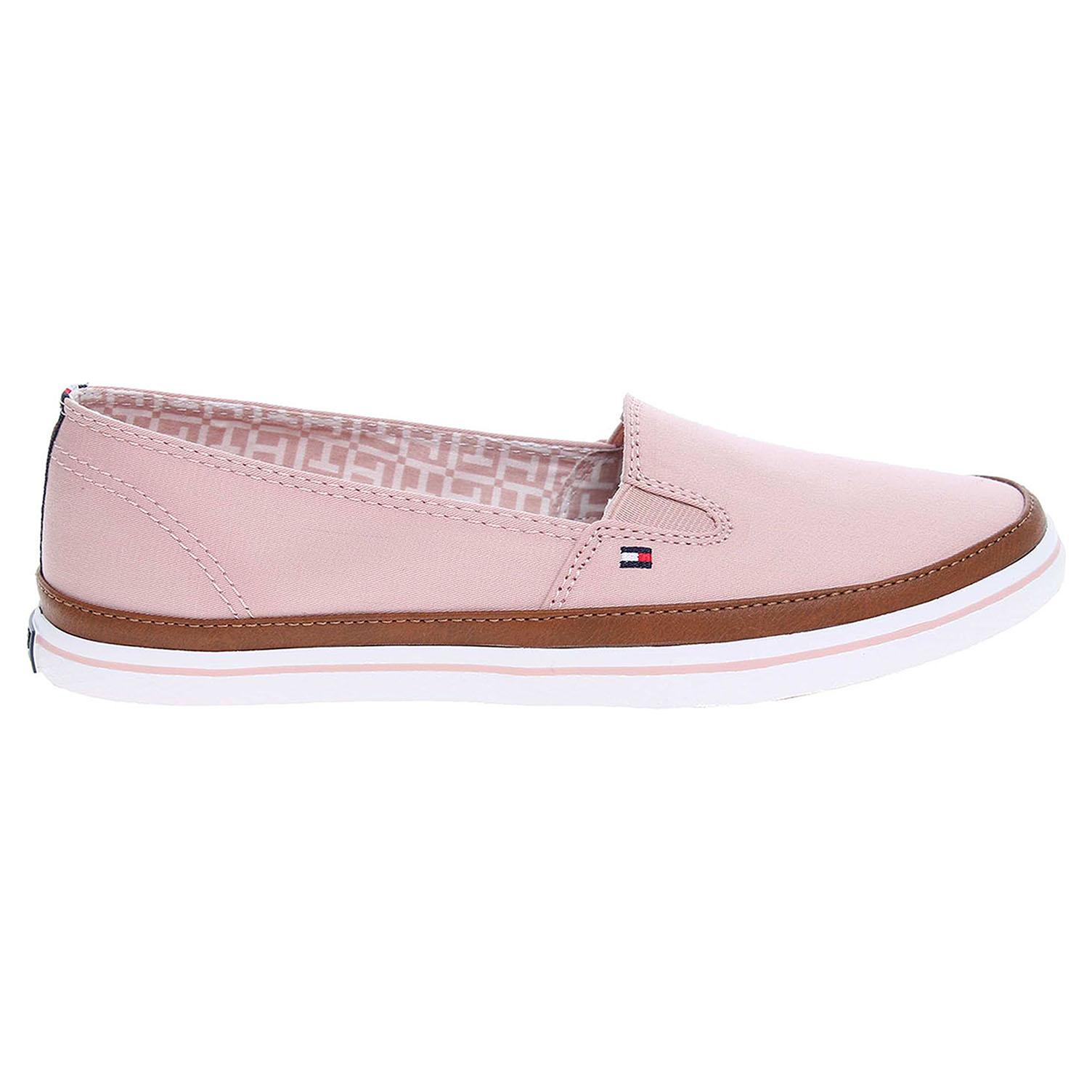 a7d22735f84 Ecco Tommy Hilfiger dámská obuv FW0FW01656 K1285ESHA 7D růžová 23200691