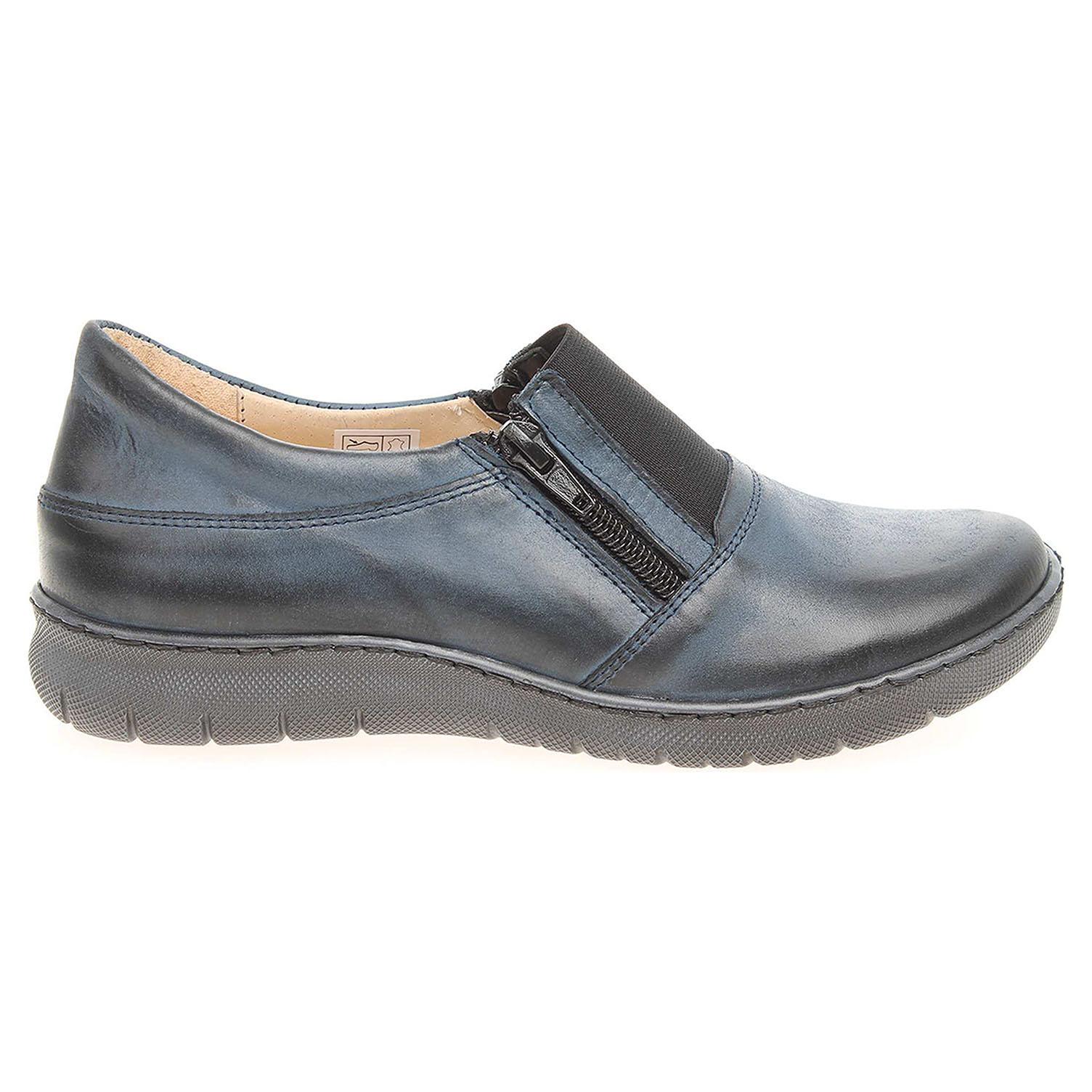 Ecco Dámská obuv PIN59 modrá 23200731 14356d0bdaf