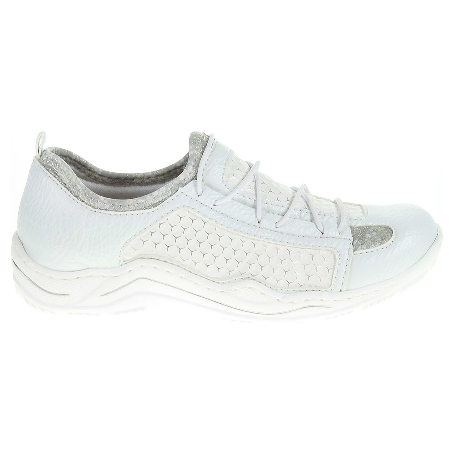 Ecco Rieker dámská obuv L0580-81 weiss kombi 23200766 e97117d543b