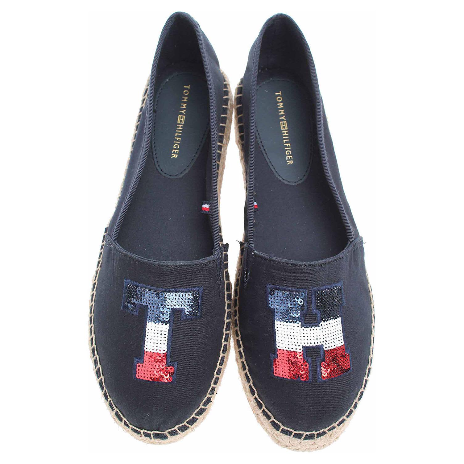 Ecco Tommy Hilfiger dámská obuv FW0FW02412 403 midnight 23200773 b757b9297bf