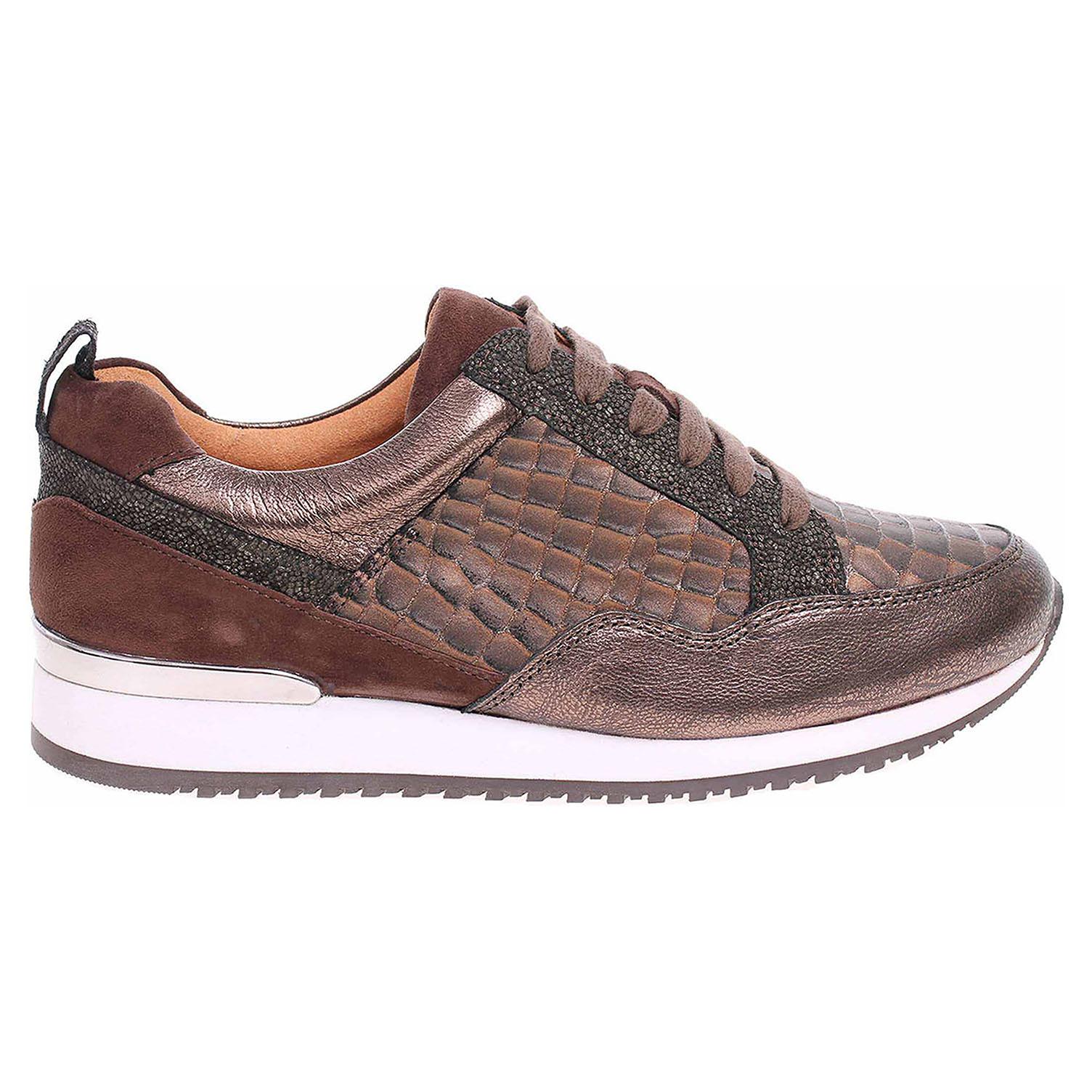 Ecco Caprice dámské polobotky 9-23602-21 brown comb 23200874