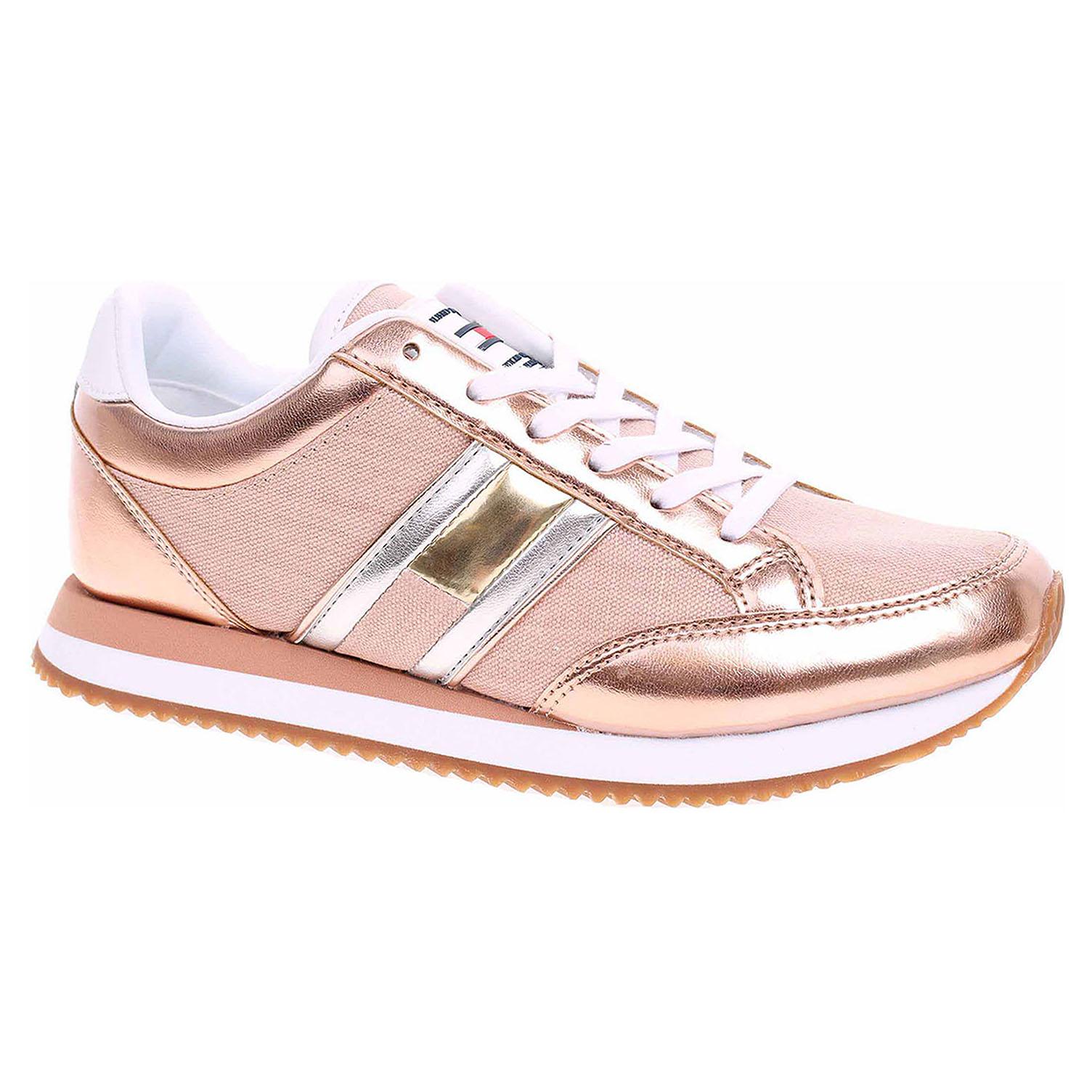 322ab9223ef4 Ecco Dámská obuv Tommy Hilfiger EN0EN00413 rose gold 23200895