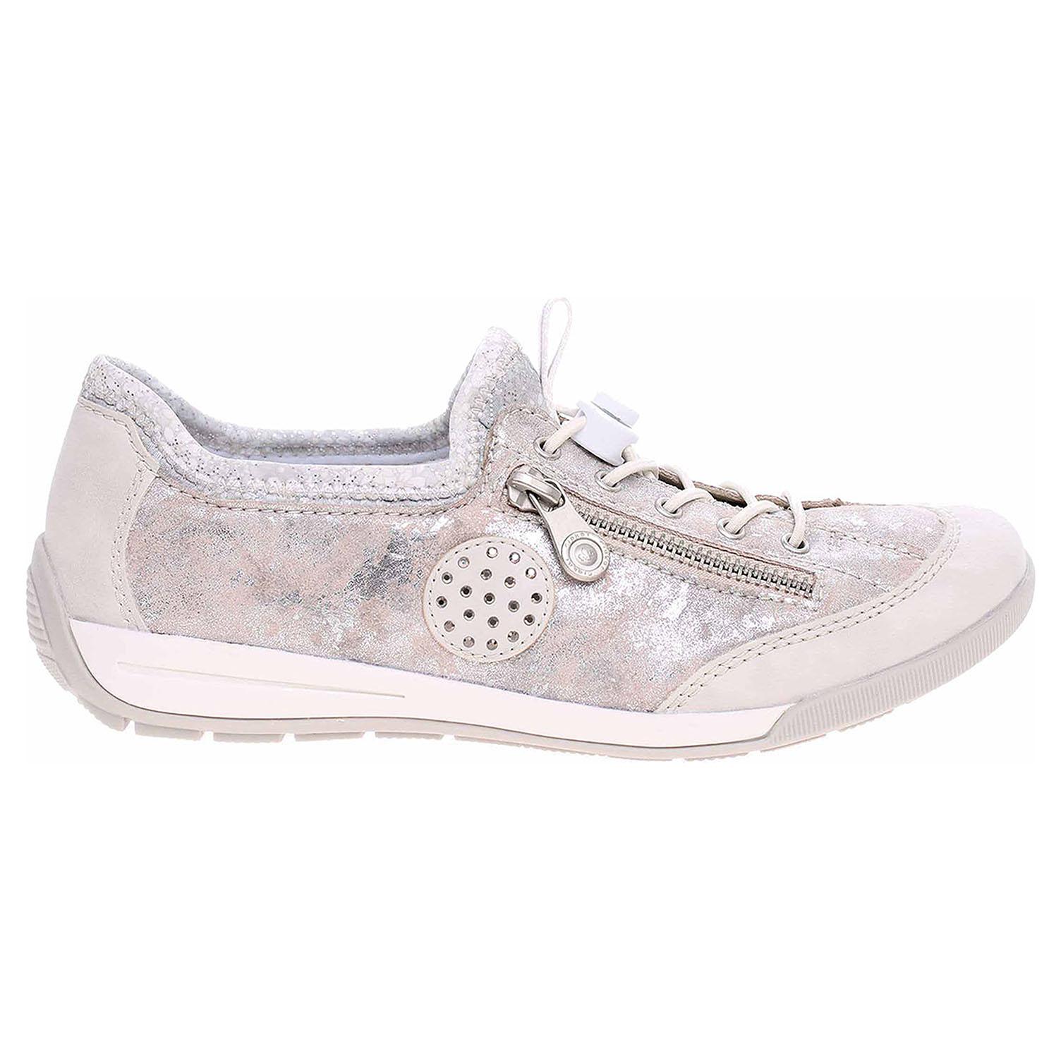 4a861cfdb23 Ecco Rieker dámská obuv M3063-81 weiss kombi 23200909
