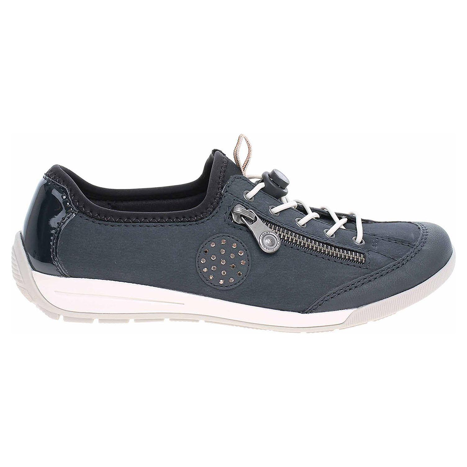 8b0d337f52a Ecco Rieker dámská obuv M3063-15 blau 23200910