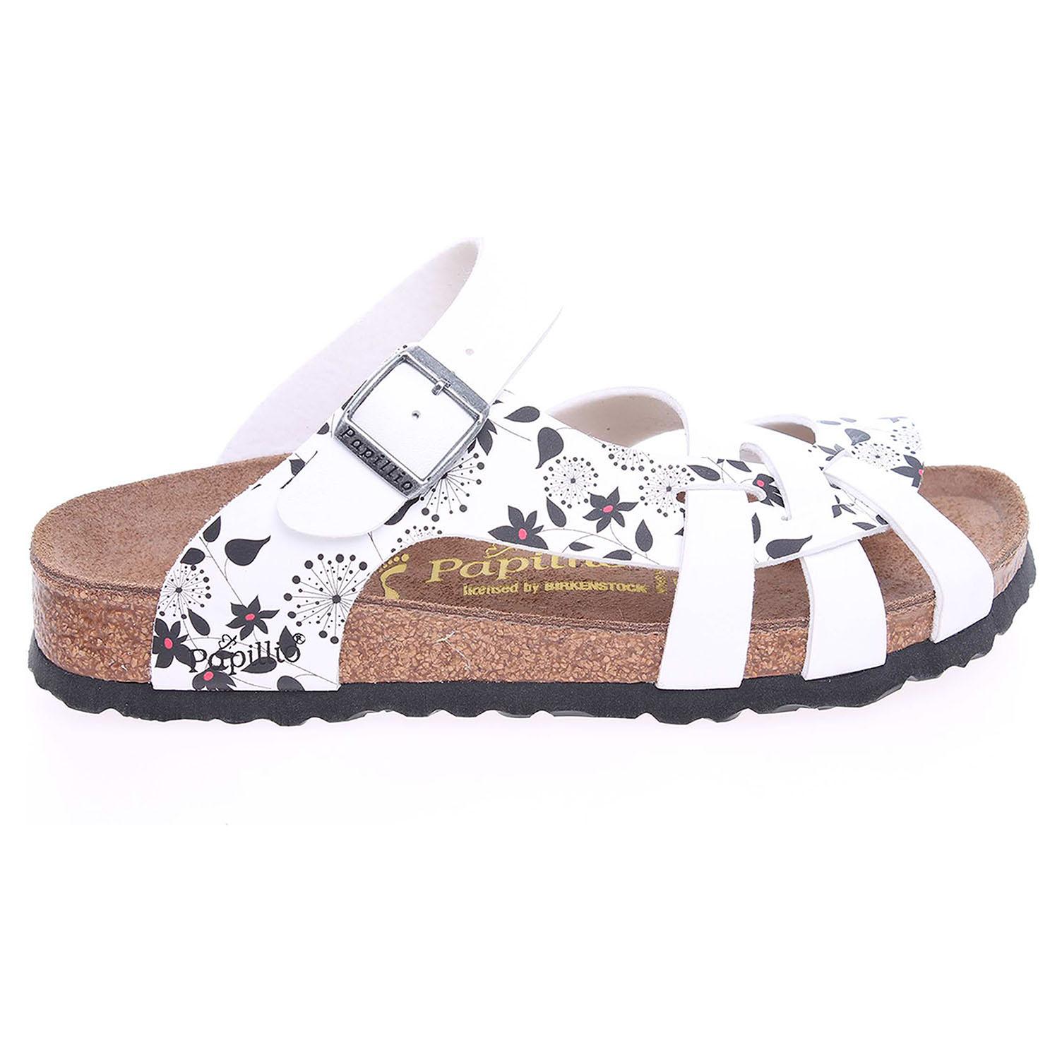 Ecco Papillio Pisa dámské pantofle 382143 bílé 23400265
