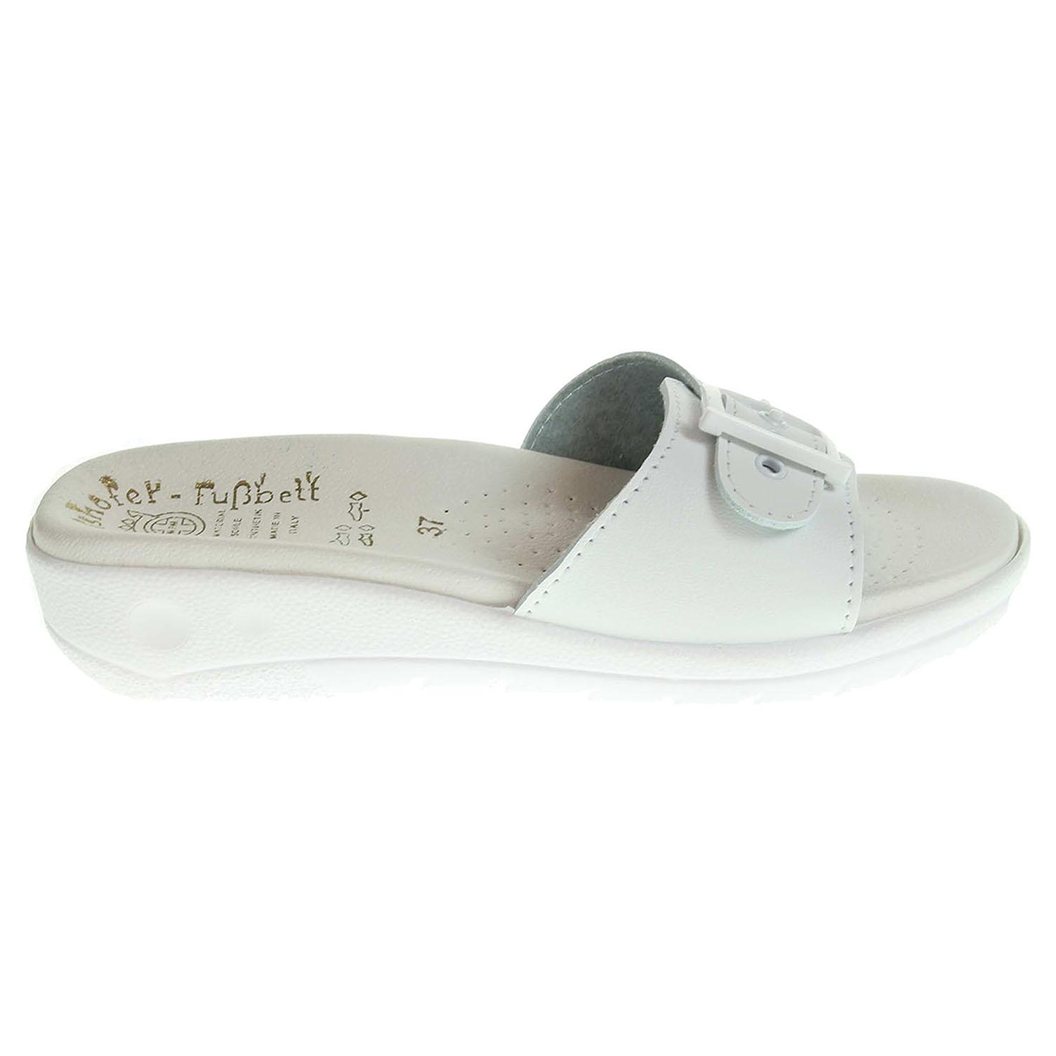 Ecco Dámské pantofle 5-20105 bílé 23400305