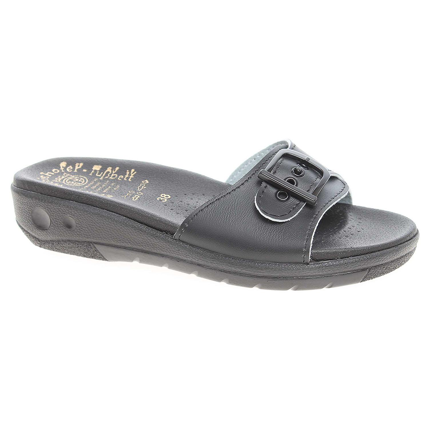 02671ae5ea Ecco Dámské pantofle 5-20106 černé 23400306