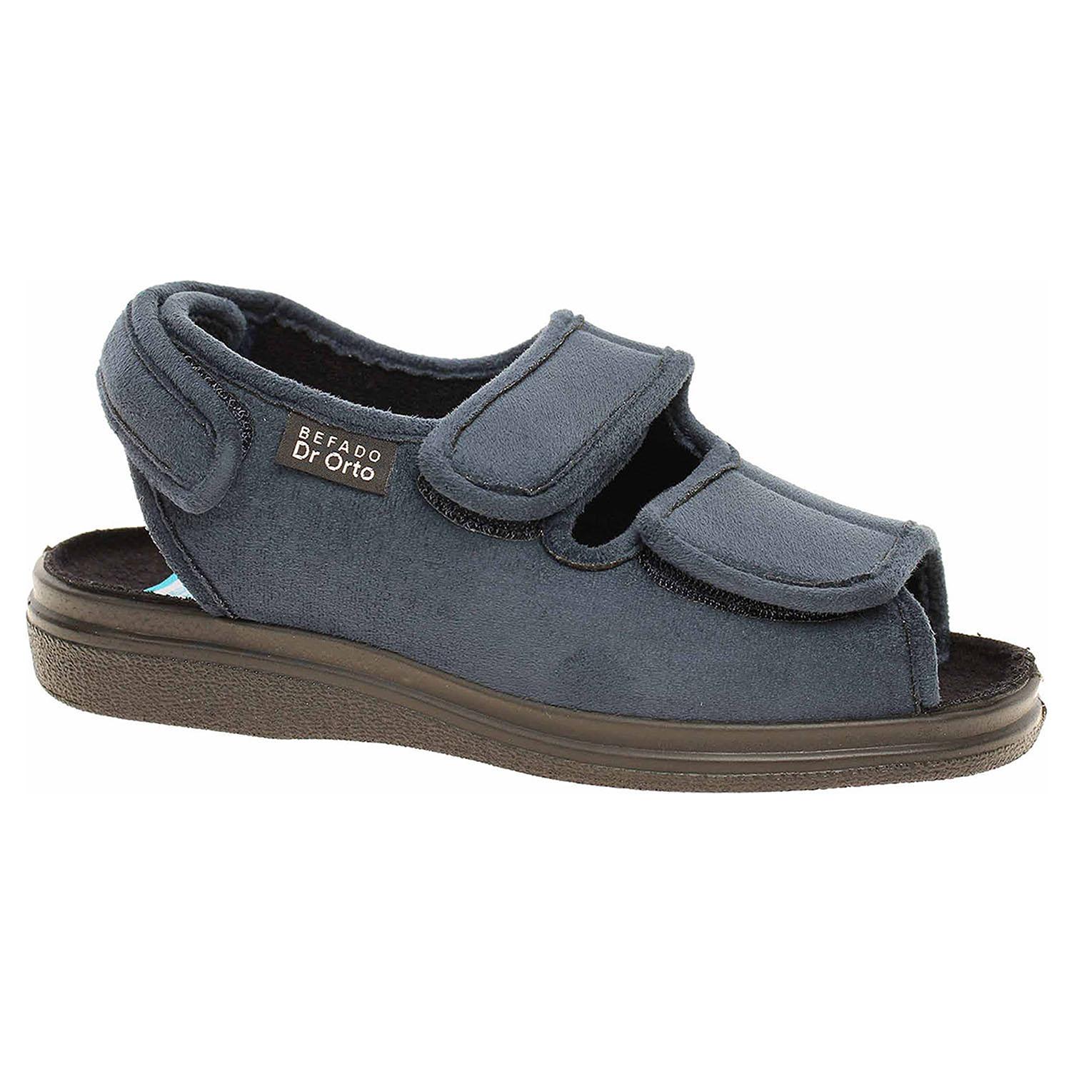 Ecco Domácí obuv Befado 676D003 modrá 23500318