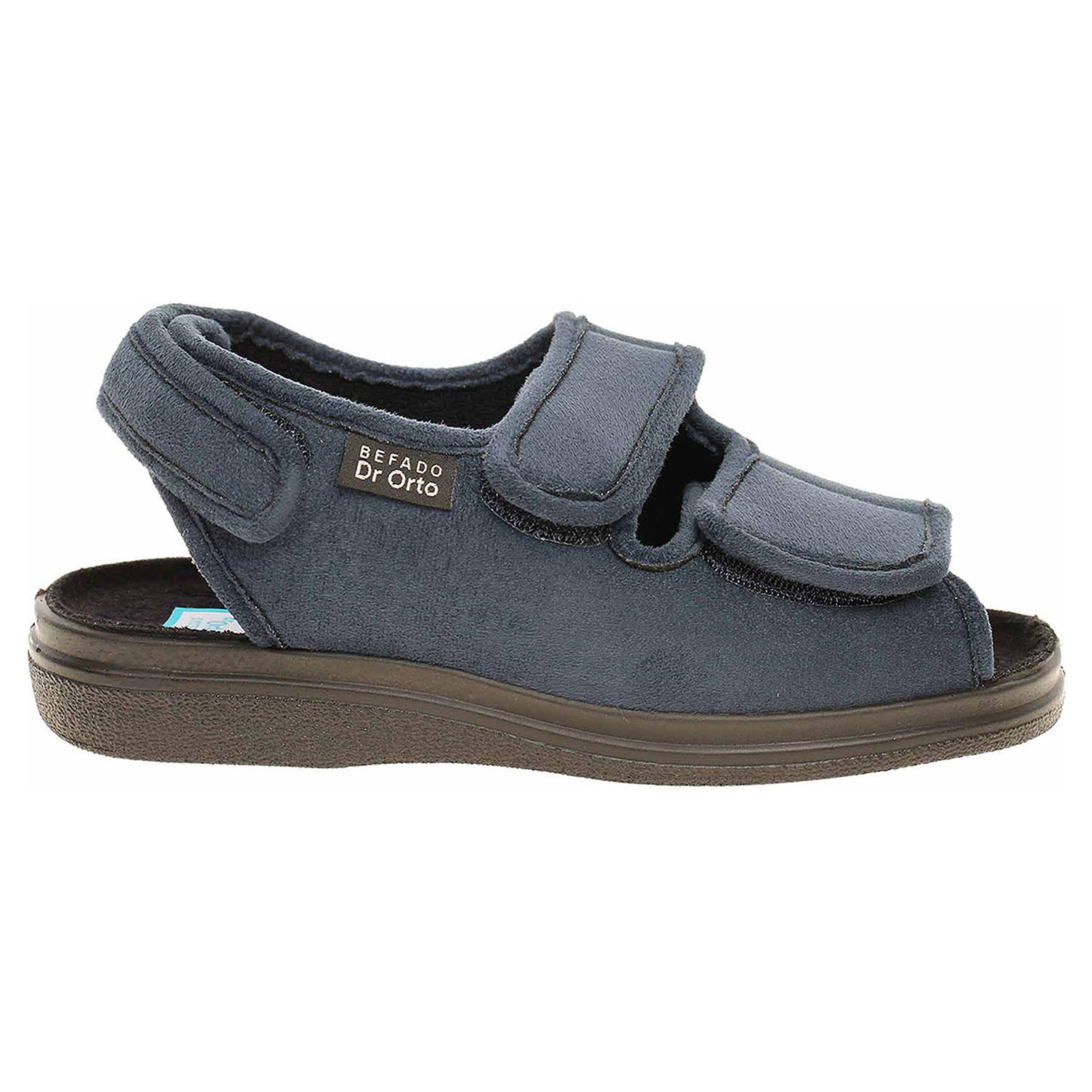 Ecco Befado domácí obuv 676D003 modrá 23500318 d03c3db624