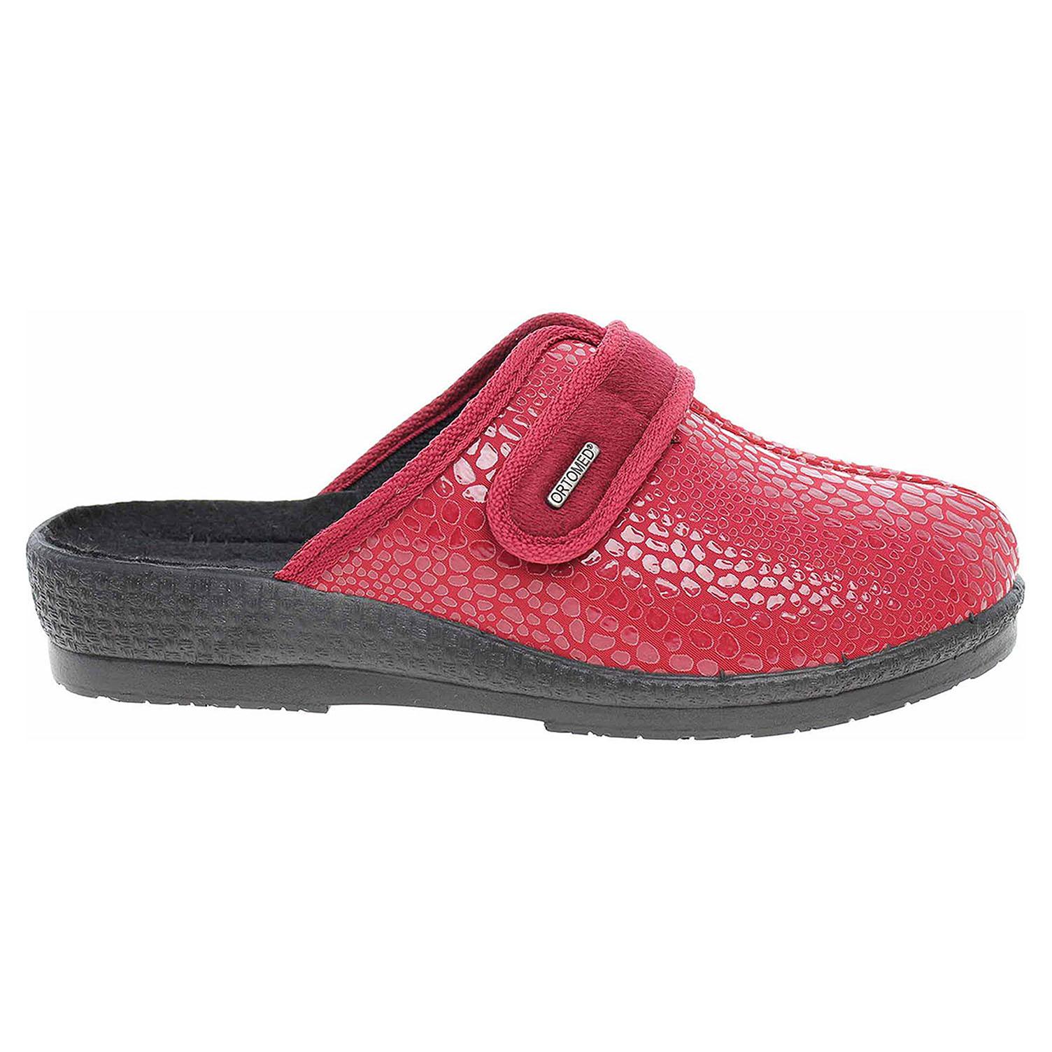 Ecco Rogallo dámské domácí pantofle 3370-011 bordo 23500548