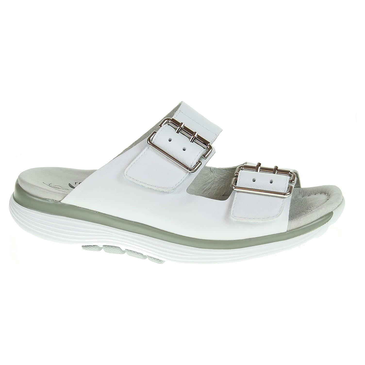 Ecco Dámské pantofle Gabor 66.910.50 bílé 23600792