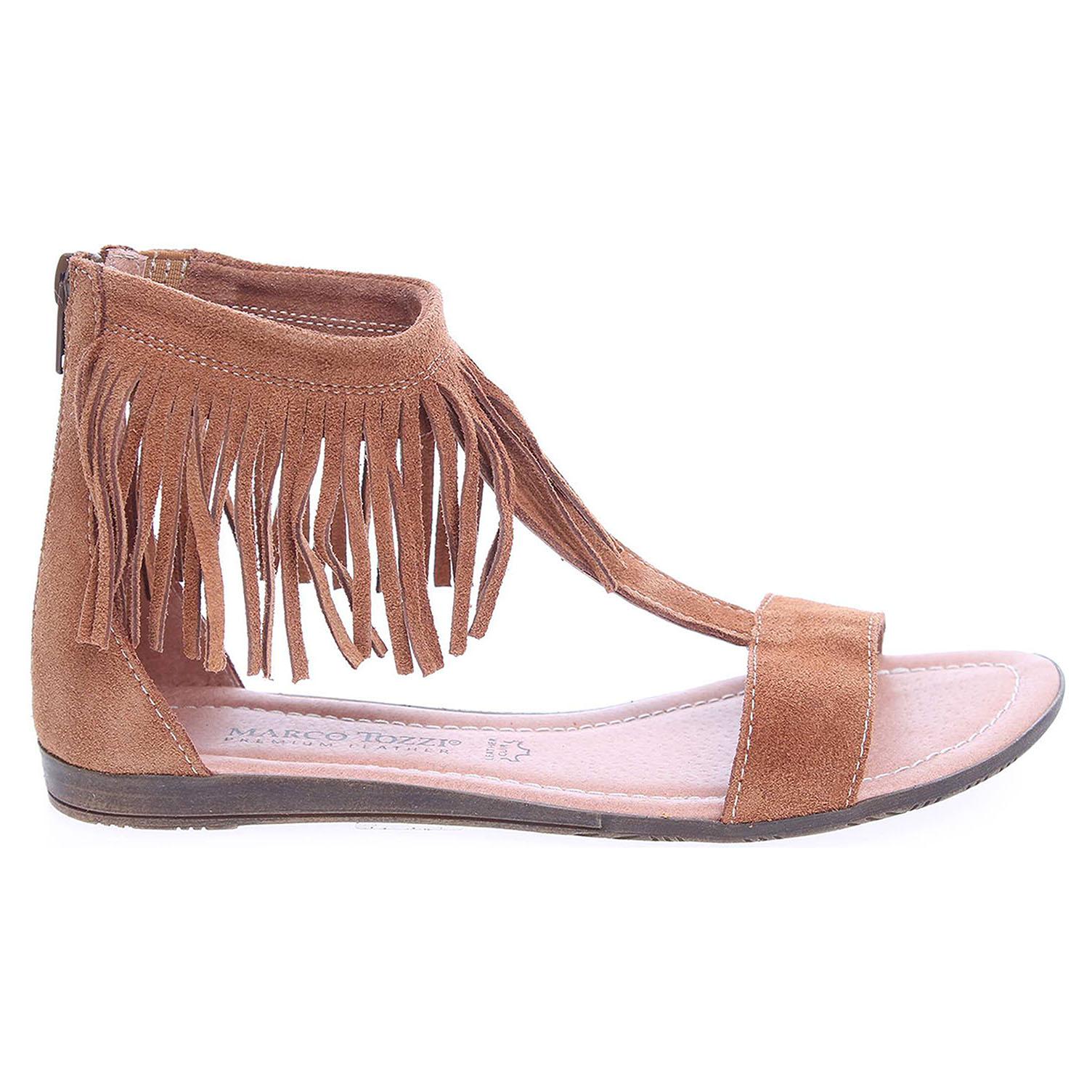 Marco Tozzi dámské sandály 2-28144-36 hnědé 38