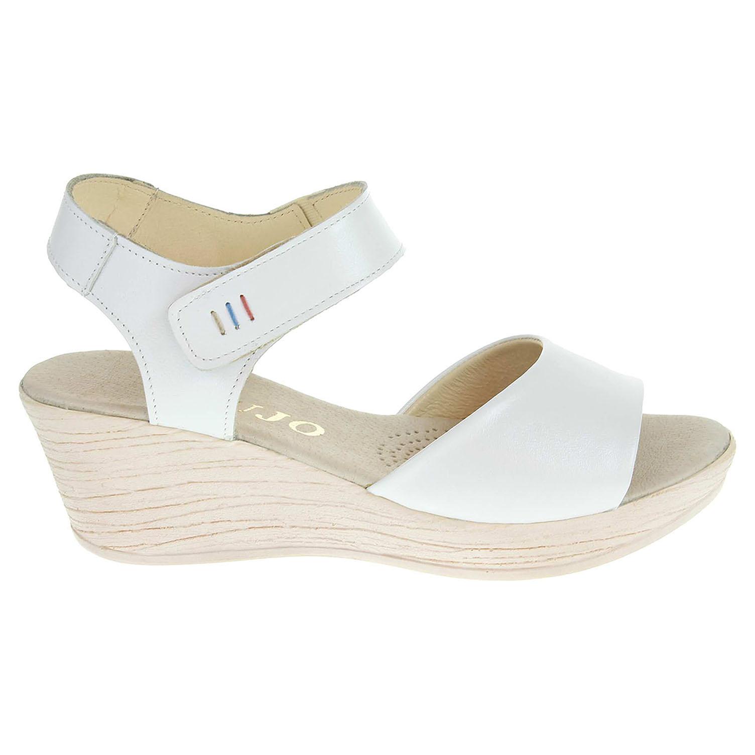 Dámské sandály J3462 bílé 38