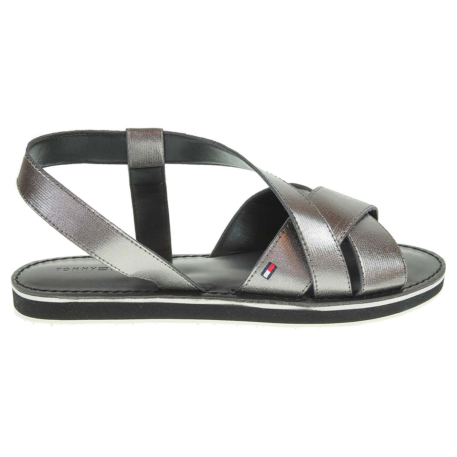 Ecco Tommy Hilfiger dámské sandály FW0FW01059 J1285ULIASP 1C2 bronzové  23801199 897e46977a