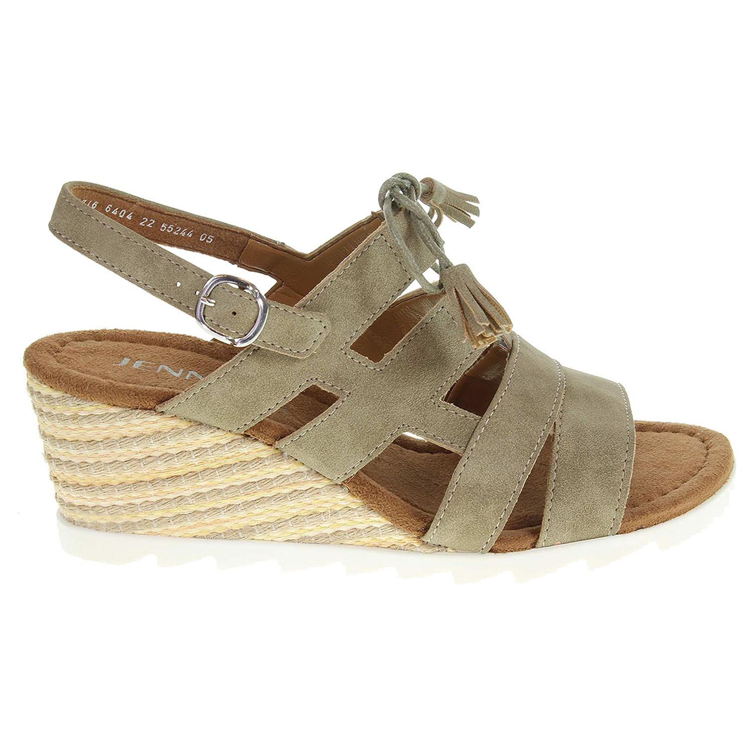 Ecco Ara dámské sandály 55244-05 béžové 23801202