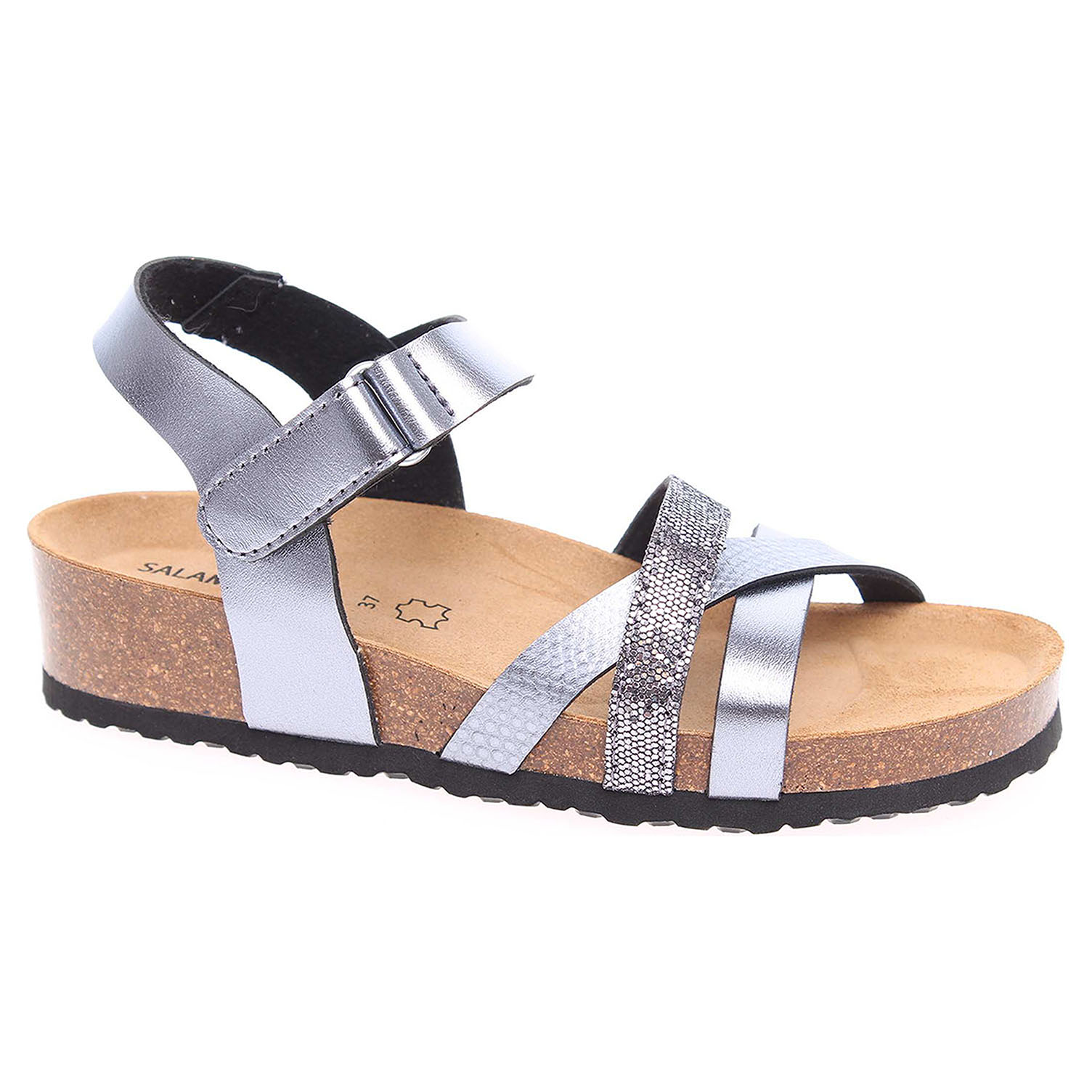 28d9414f1644 Ecco Dámské sandály Salamander 32-13103-35 anthrazit 23801264