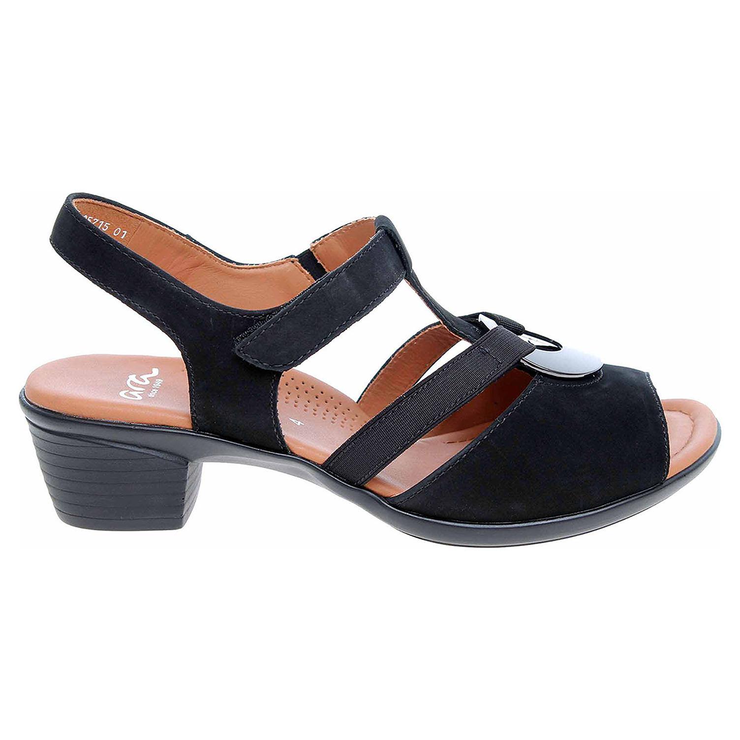 Ecco Ara dámské sandály 12-35715-01 schwarz 23801278