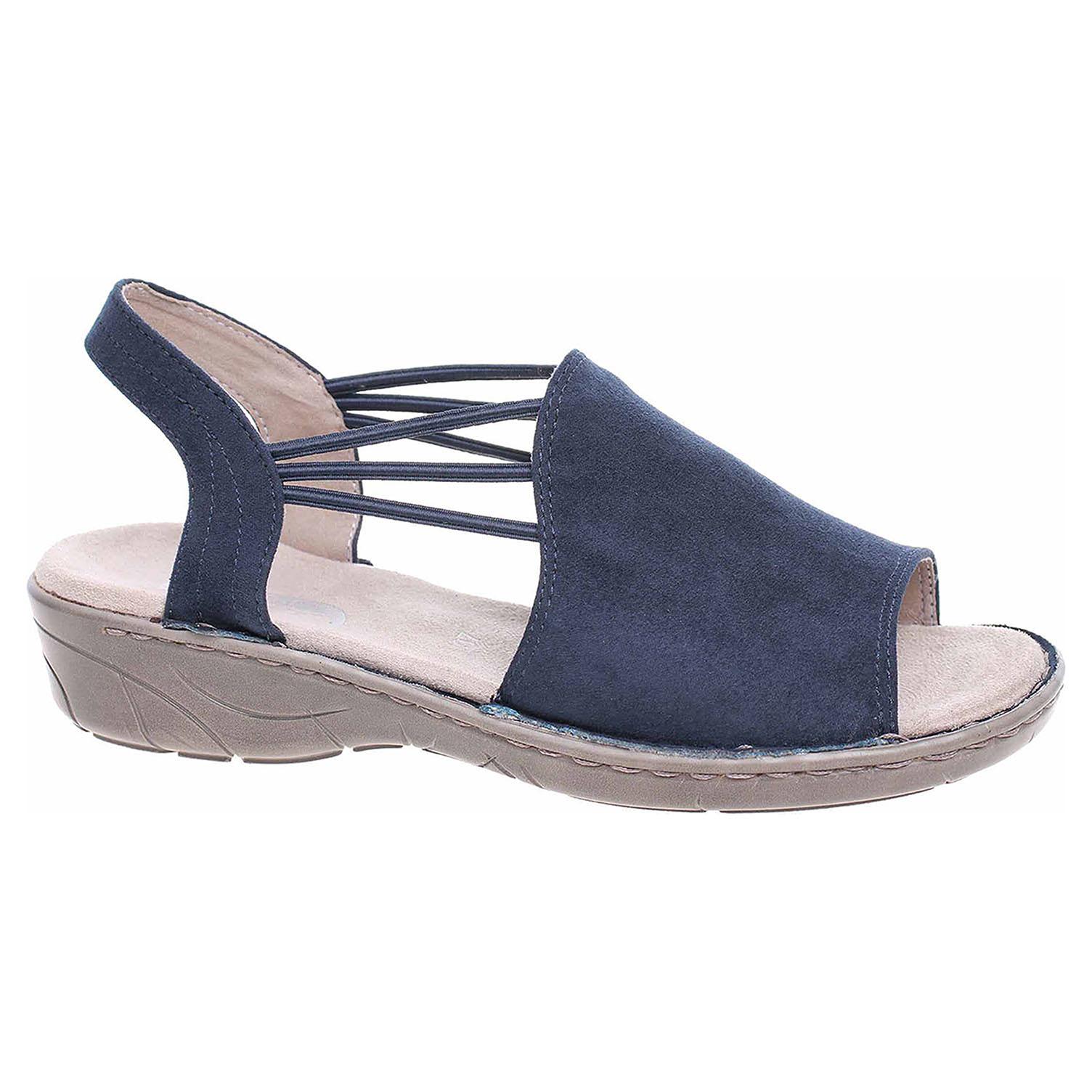 5aae7623bd Ecco Dámské sandály Ara 22-57283-84 blau 23801279