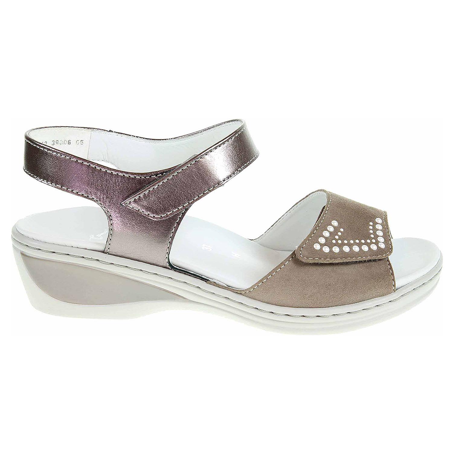 Ecco Ara dámské sandály 12-39006-05 taupe-street 23801280