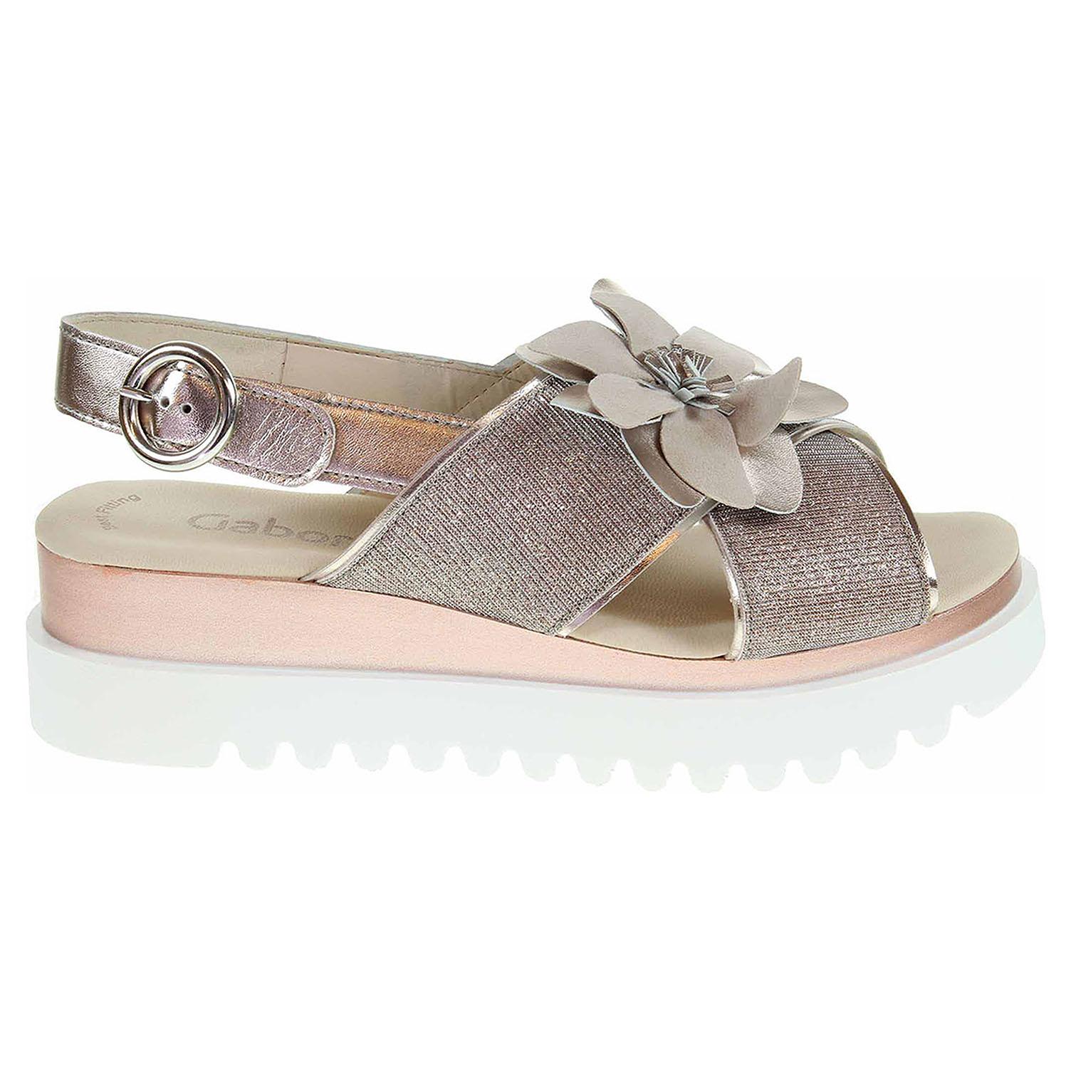 Ecco Gabor dámské sandály 23.616.64 rosato-muschel 23801283 0ea1d15735