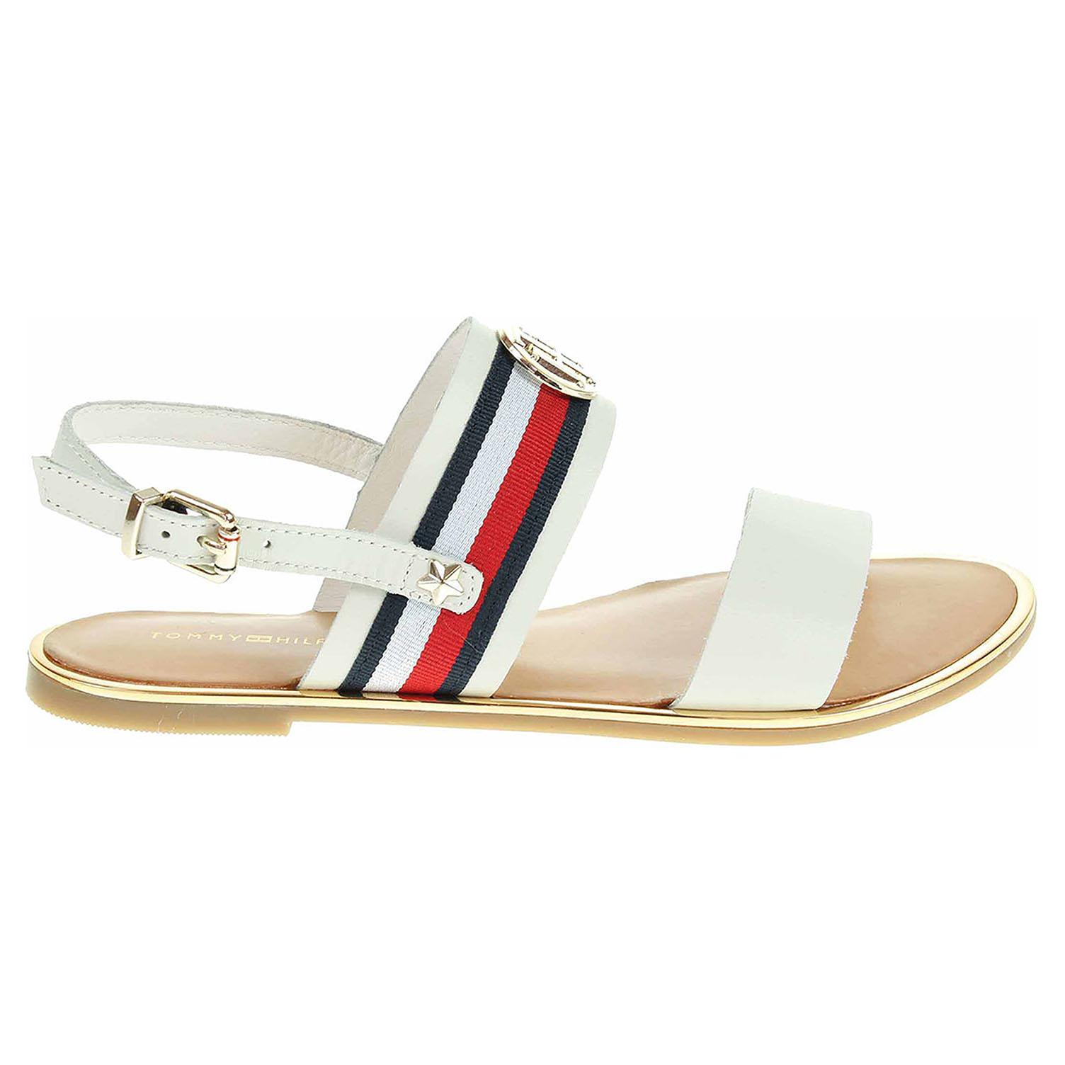 Ecco Tommy Hilfiger dámské sandály FW0FW02811 whisper white 23801331 5ff30c37a7