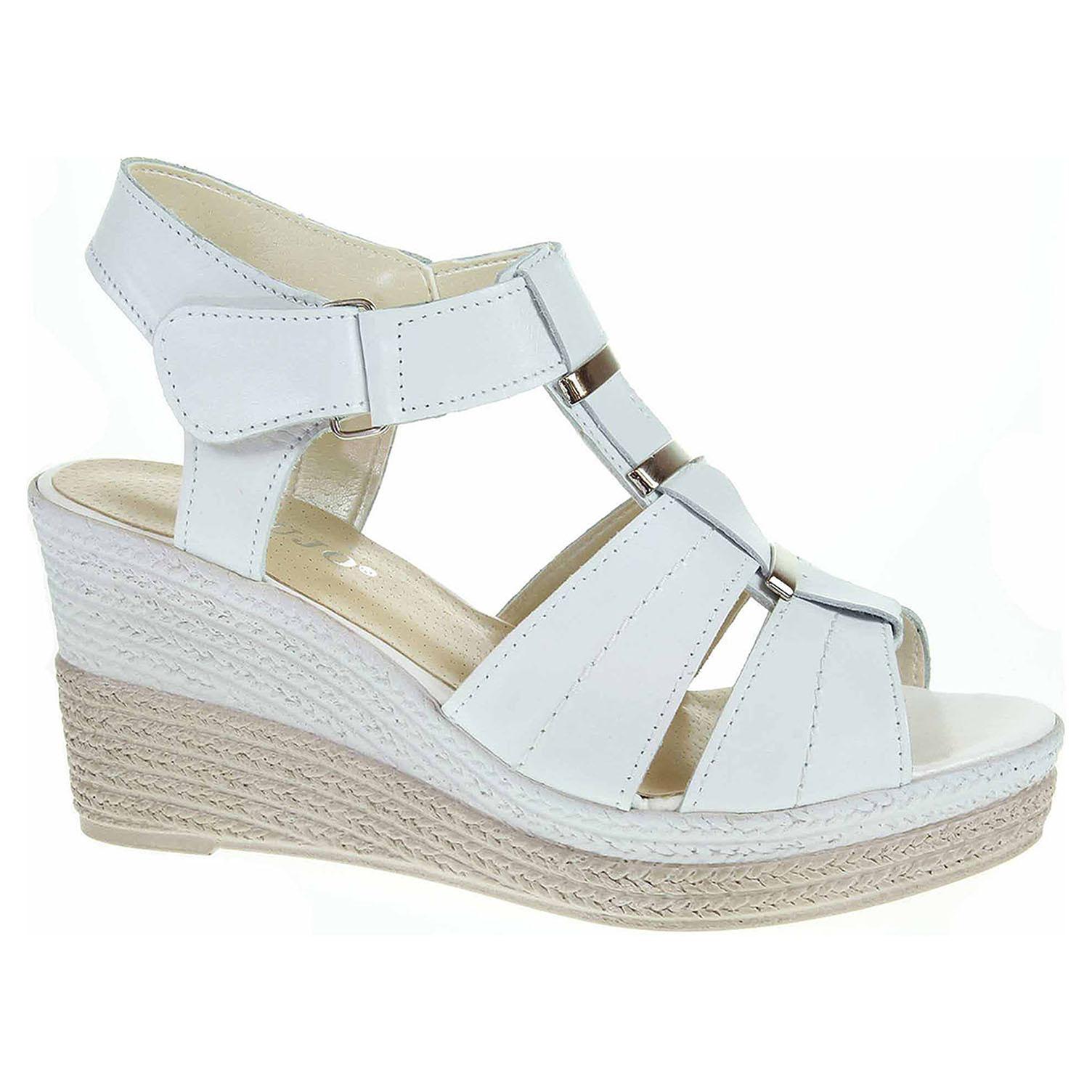 Ecco Dámské sandály EW 7607 bílá 23801343