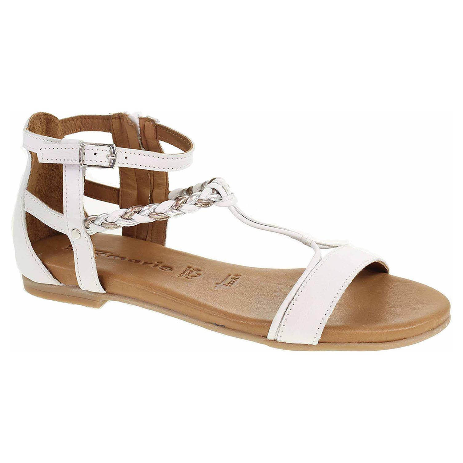 43dc83915fbf1 Ecco Dámské sandály Tamaris 1-28043-22 white comb 23801360