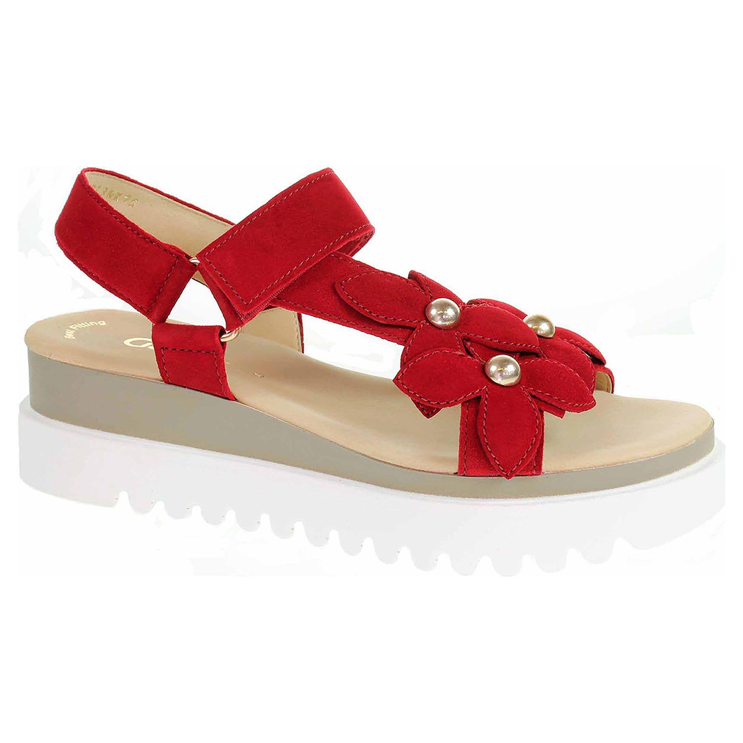 23.611.15 rubin dámské sandály, F šíře, klínek, Best Fitting