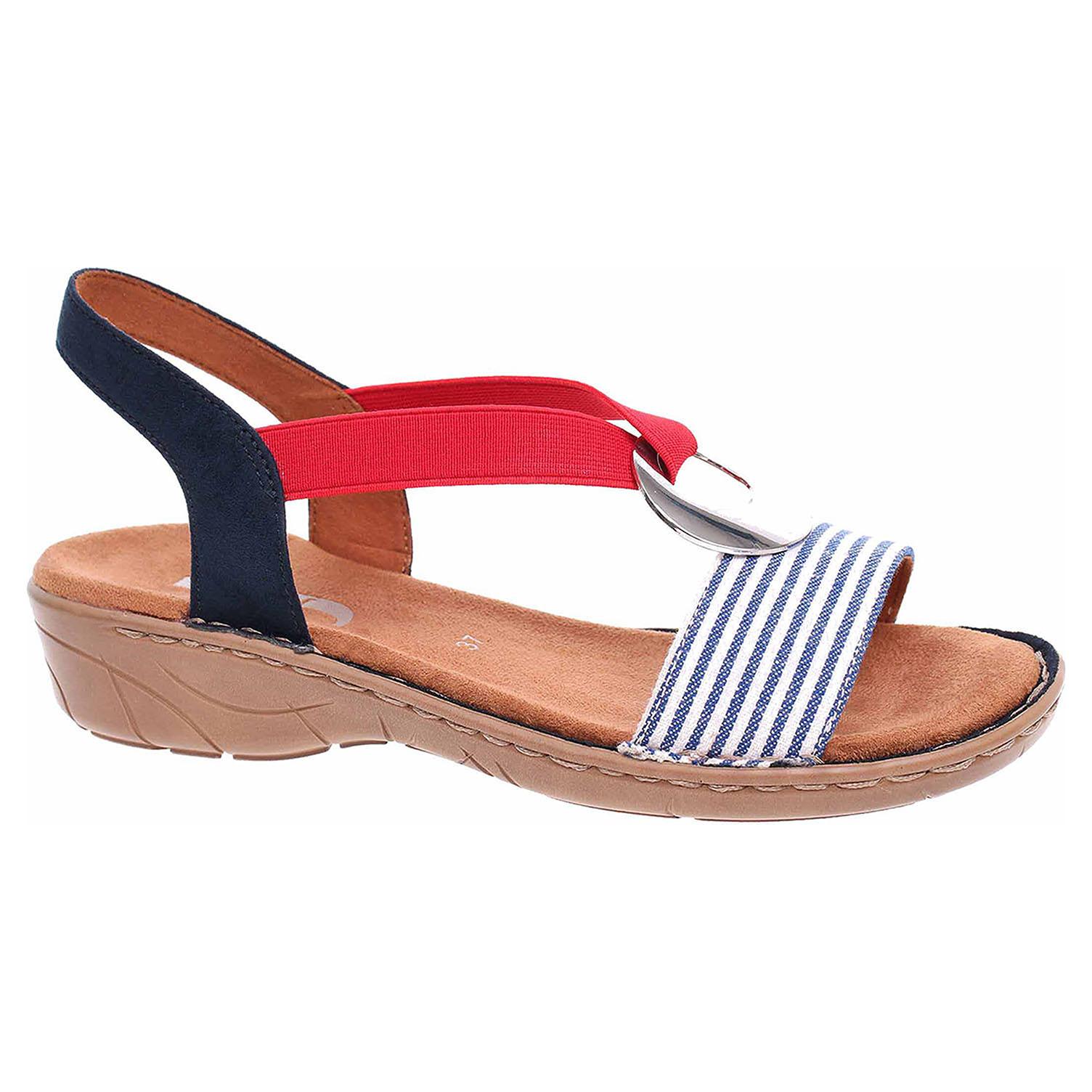 d5a028244d Ecco Dámské sandály Ara 22-57264-75 navy-blau 23801483