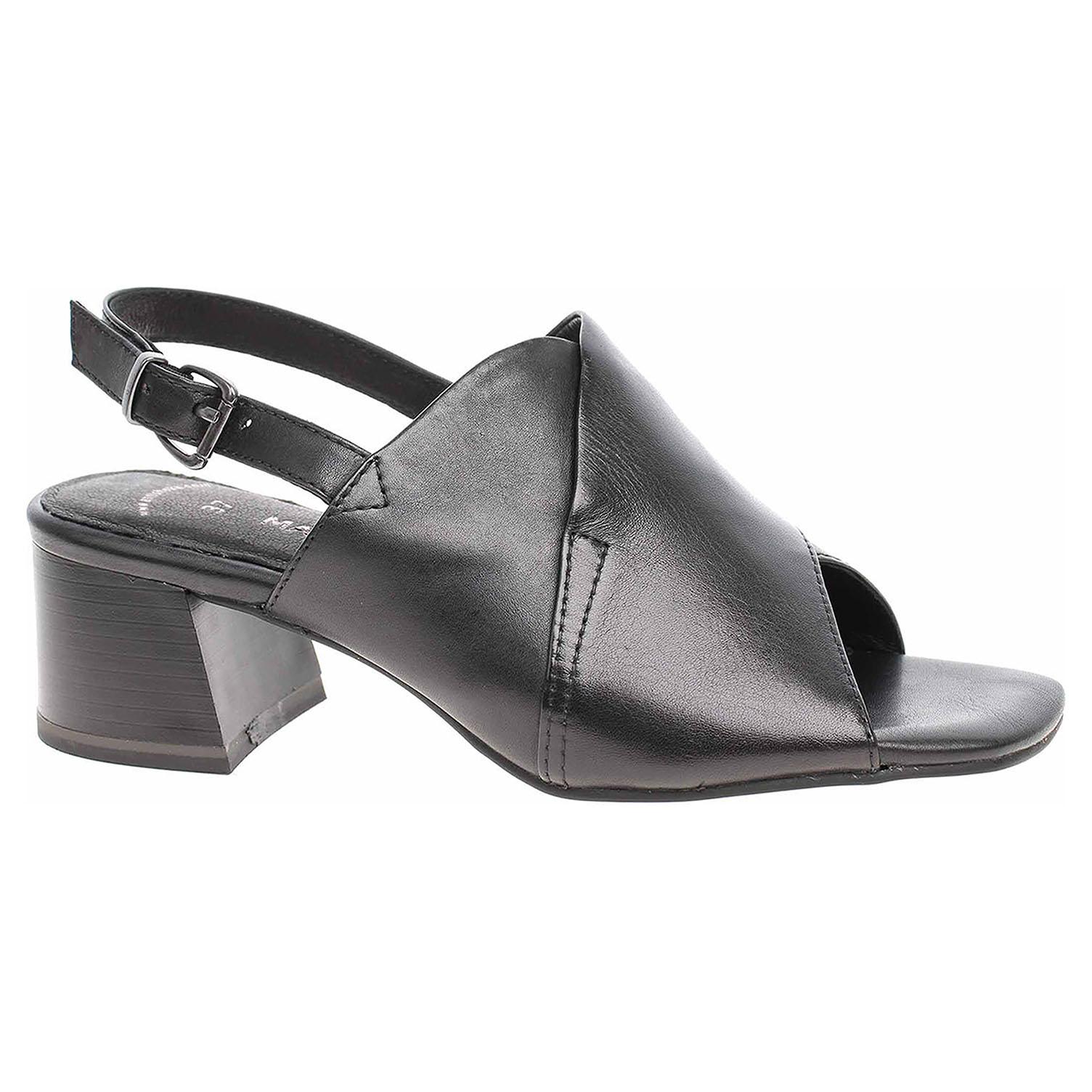 Levně Dámské sandály Marco Tozzi 2-28046-36 black antic 36