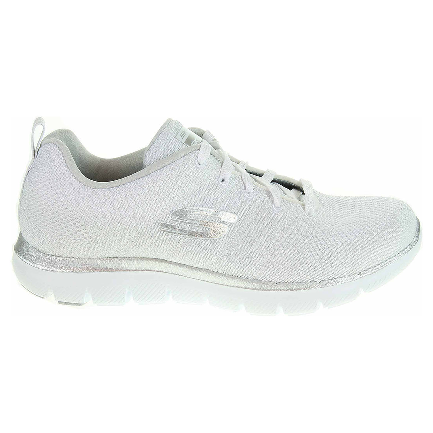 Ecco Skechers Flex Appeal 2.0 - Opening Night white-silver 23900194 da95d67893