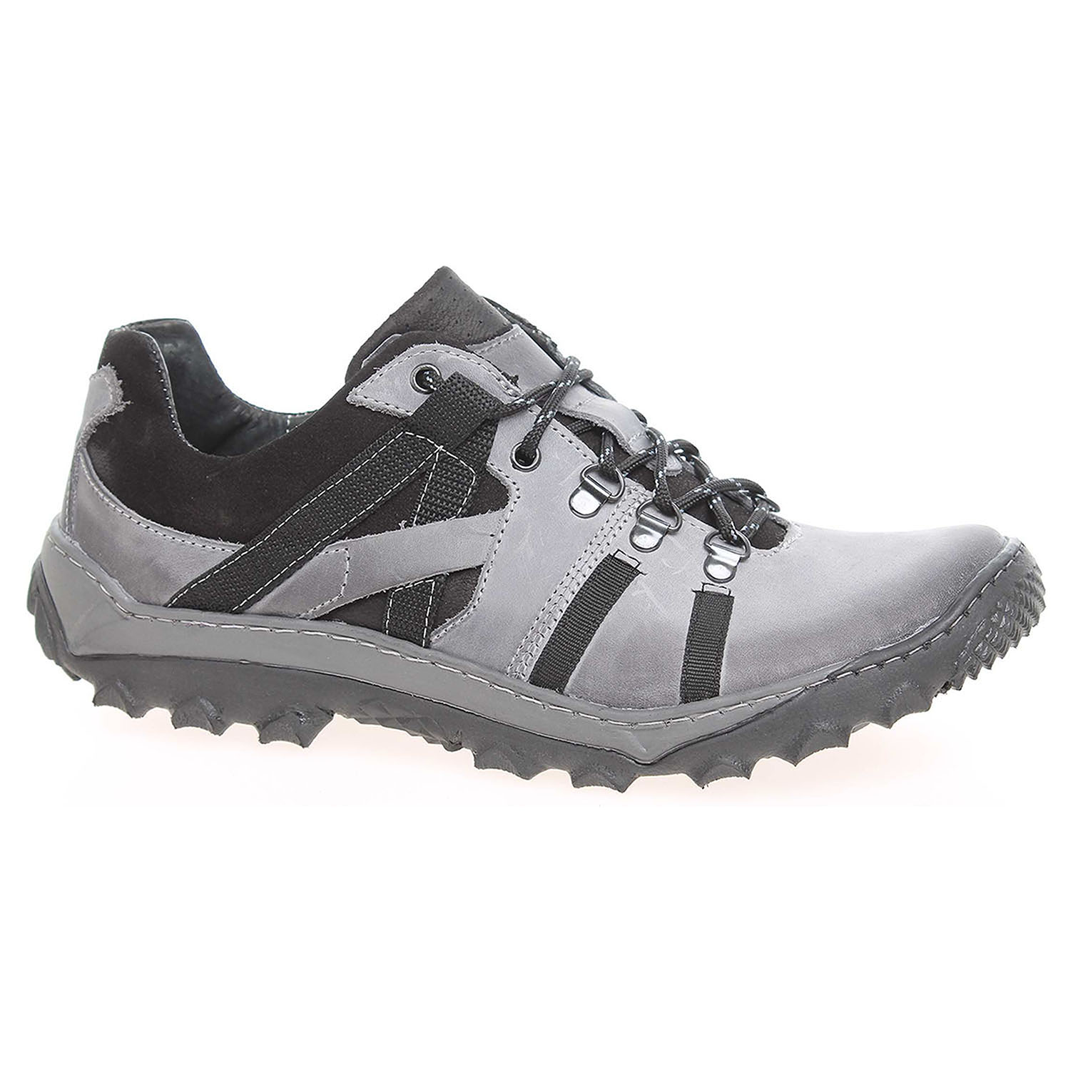 Ecco Pánská vycházková obuv KR151 šedá-černá 24000401