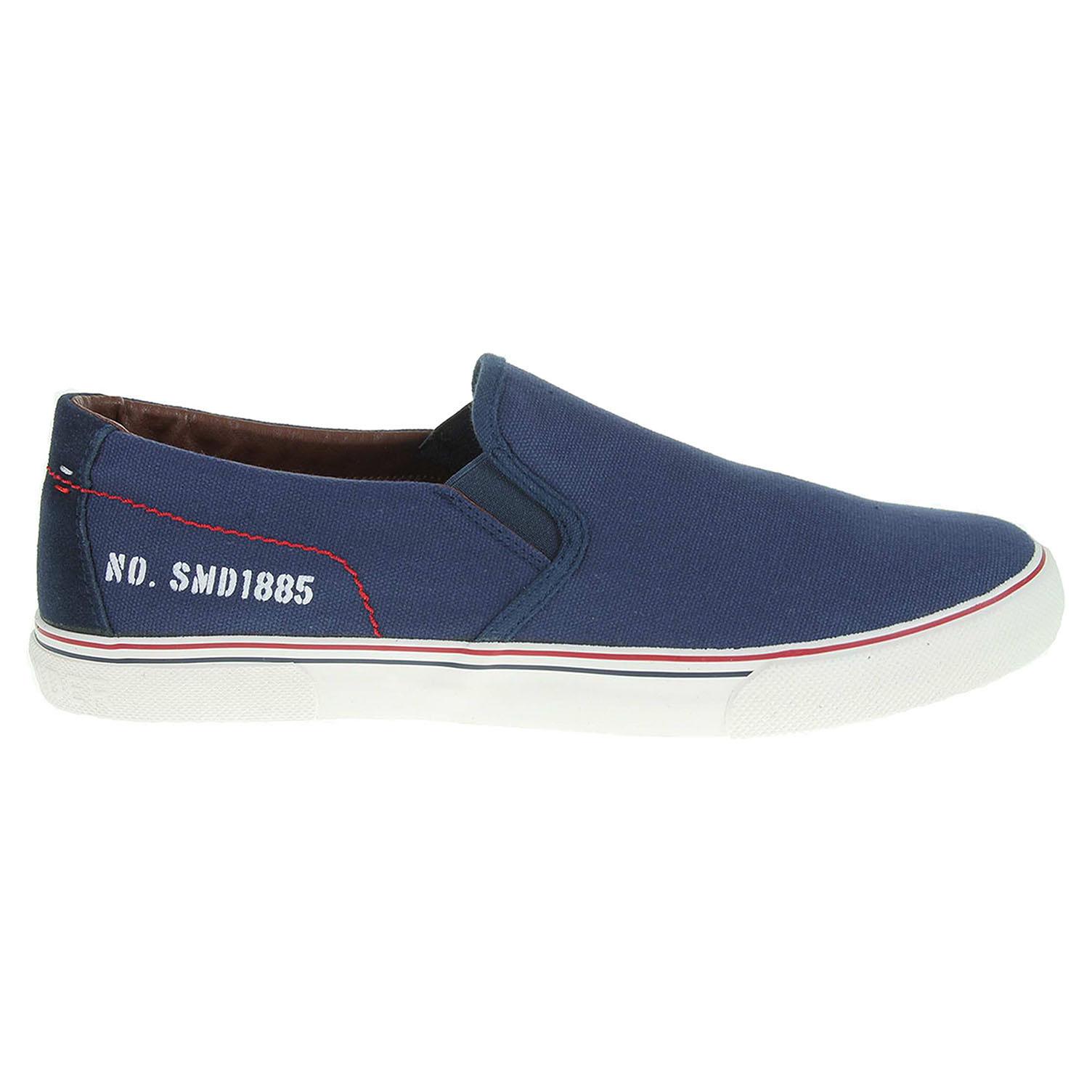 Ecco Salamander pánská obuv 60303-32 modrá 24000417 96c1b3db0c