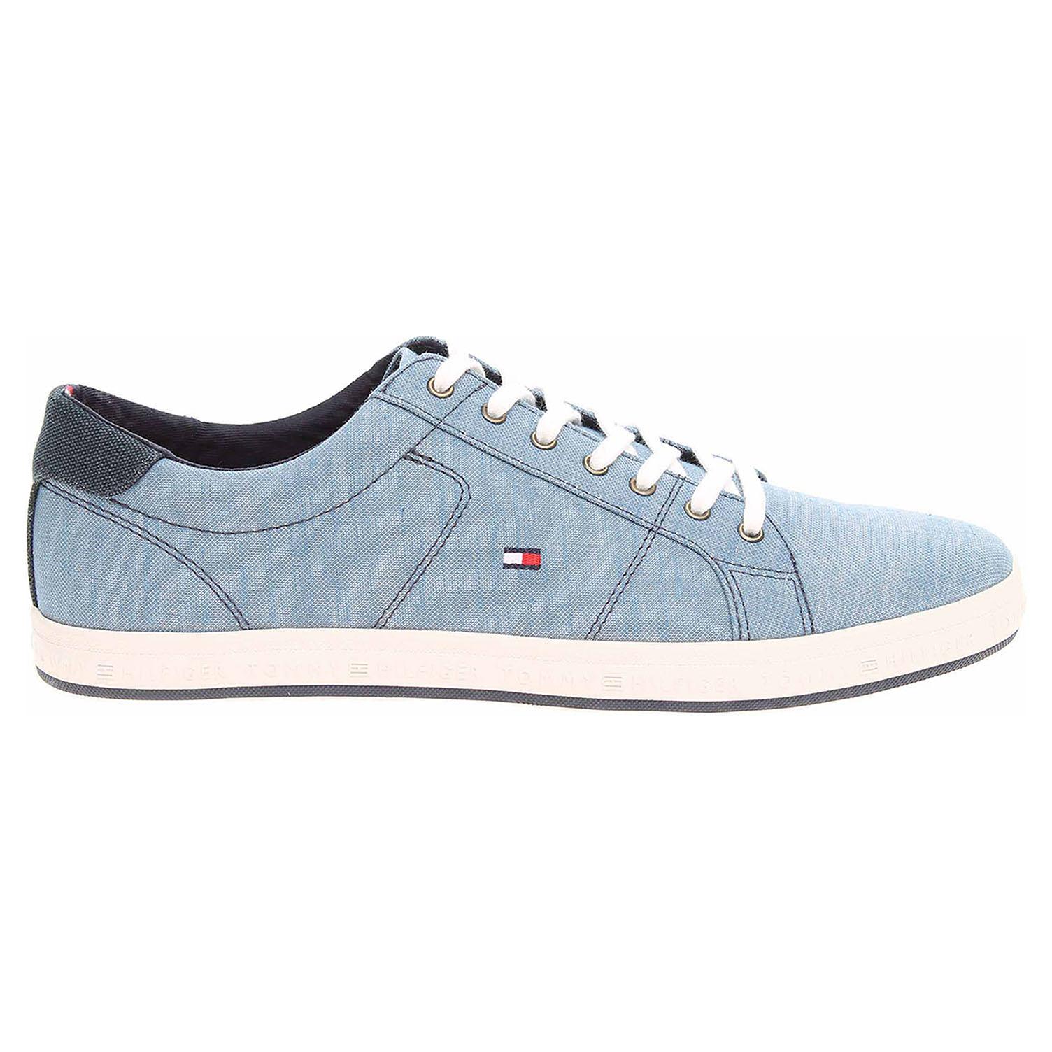 8e096e710e3 Ecco Tommy Hilfiger pánská obuv FM0FM01378 013 jeans 24000493