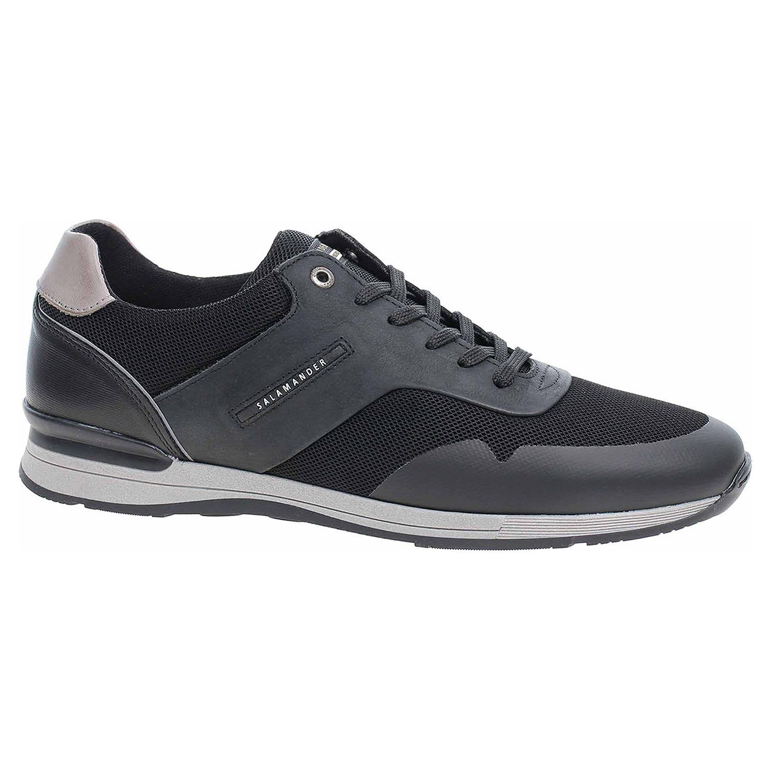 6f593bbf89 Ecco Pánská obuv Salamander 31-56207-31 black-grey-black 24000523