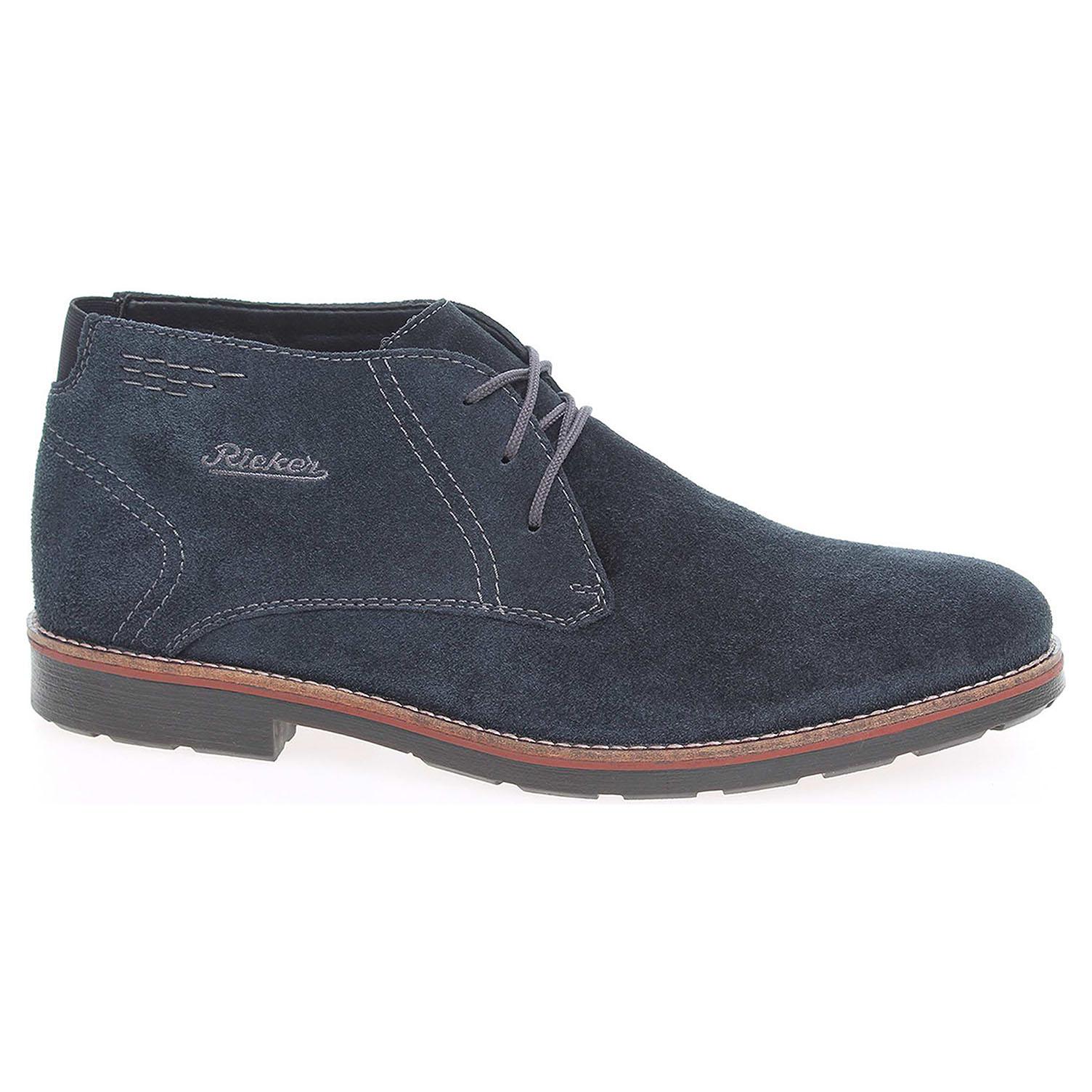 6b4436a776 Ecco Pánská kotníková obuv Rieker 35314-14 modré 24300465