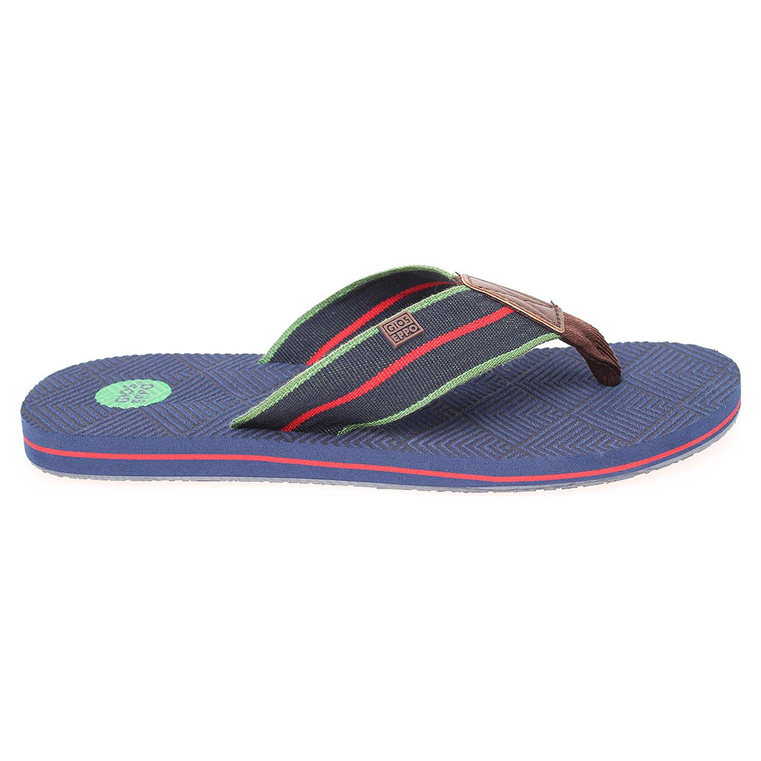 Gioseppo Caribean navy pánské plážové pantofle 41